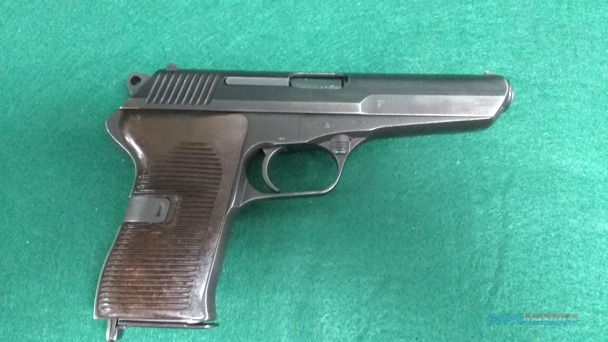 CZ-52 7.62x25mm Tokarev   Guns > Pistols > CZ Pistols