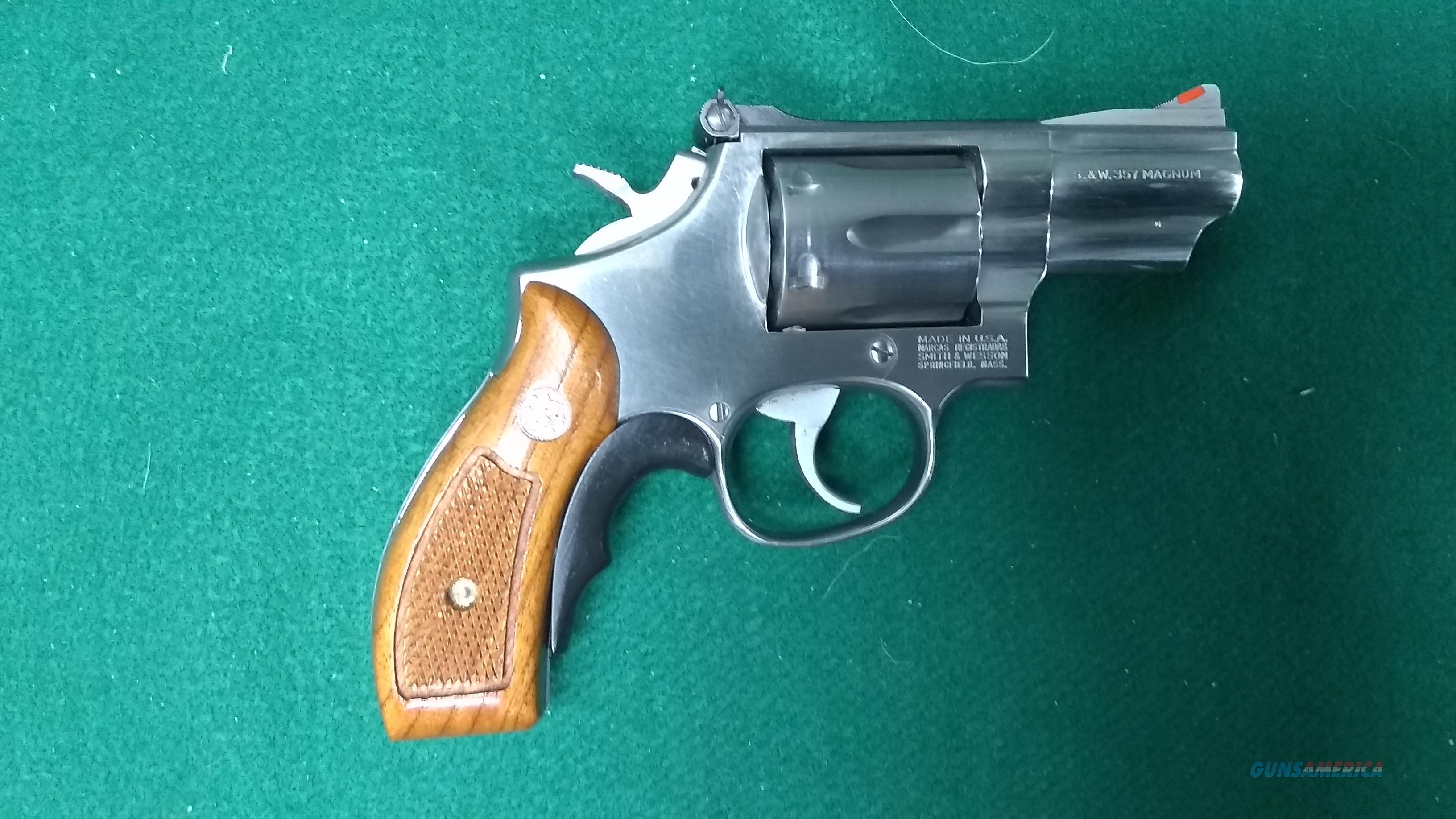 """Smith & Wesson - 66-3 - 357 Magnum - 2.5"""" Barrel - Excellent  Guns > Pistols > Smith & Wesson Revolvers > Med. Frame ( K/L )"""