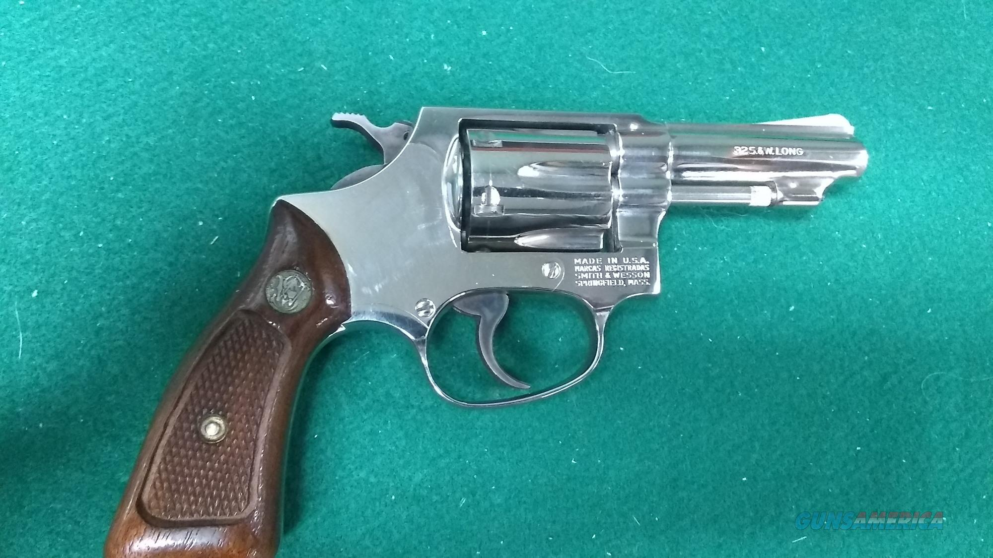"Smith & Wesson 31-1 - Nickel Finish - 32S&W Long - 3"" Barrel  Guns > Pistols > Smith & Wesson Revolvers > Small Frame ( J )"