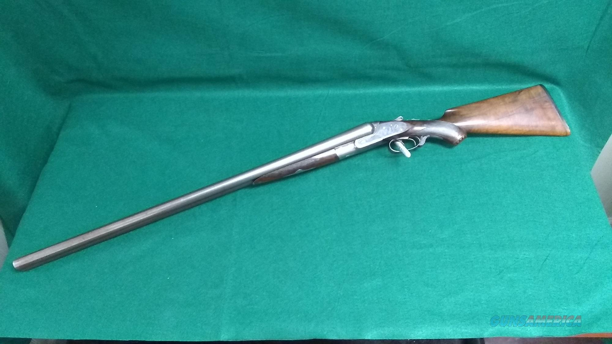 "Lefever 'G' Grade Hammerless 10GA - 30"" Damascus steel barrels  Guns > Shotguns > Lefever Shotguns"
