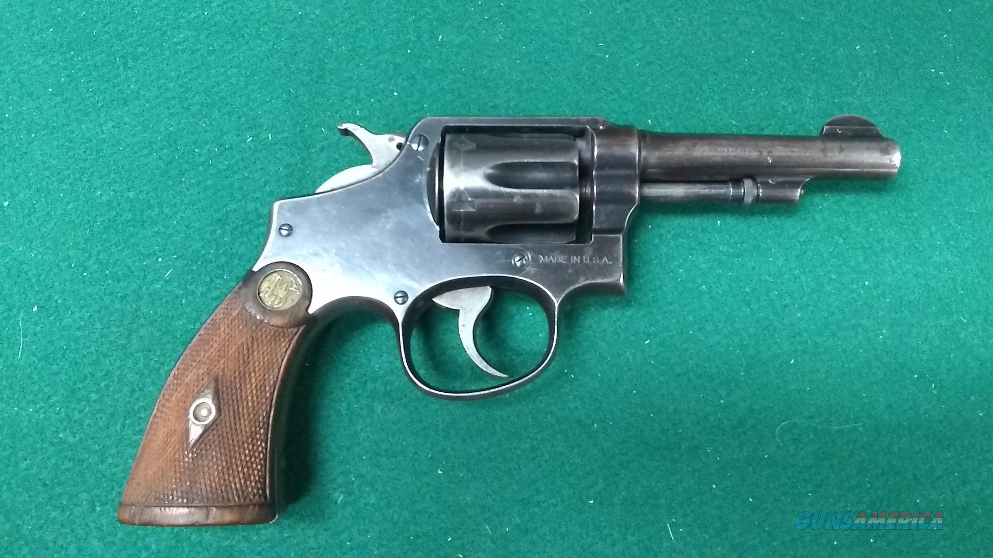 "Smith & Wesson Hand Ejector - 32-20 Winchester - 4"" Barrel   Guns > Pistols > Smith & Wesson Revolvers > Pre-1945"
