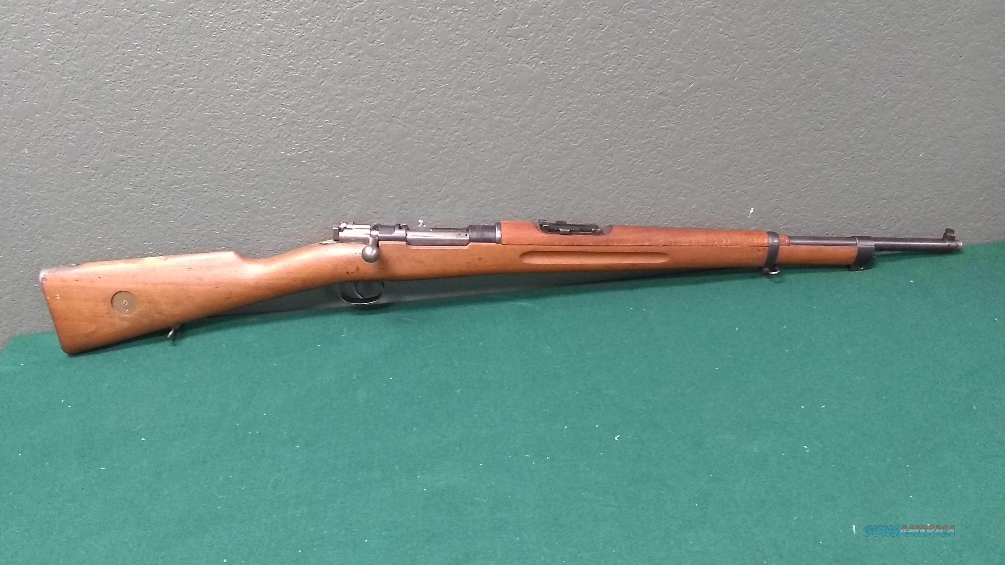 "1916 Swedish M38 Mauser chambered in 6.5X55mm - 24"" Barrel  Guns > Rifles > C Misc Rifles"
