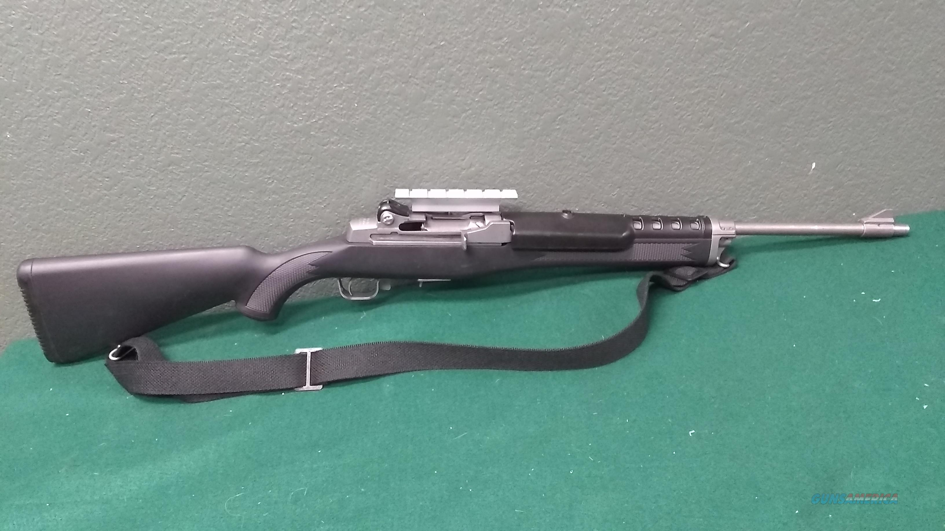 "Ruger Mini 14 Stainless - .223 Rem - 18.5"" barrel - Weaver Rail  Guns > Rifles > Ruger Rifles > Mini-14 Type"