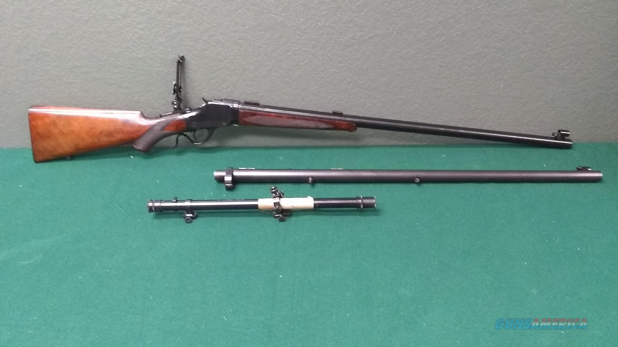 1896 Winchester Model 1885 High Wall - Curt Hardcastle Custom  Guns > Rifles > Winchester Rifles - Pre-1899 Lever
