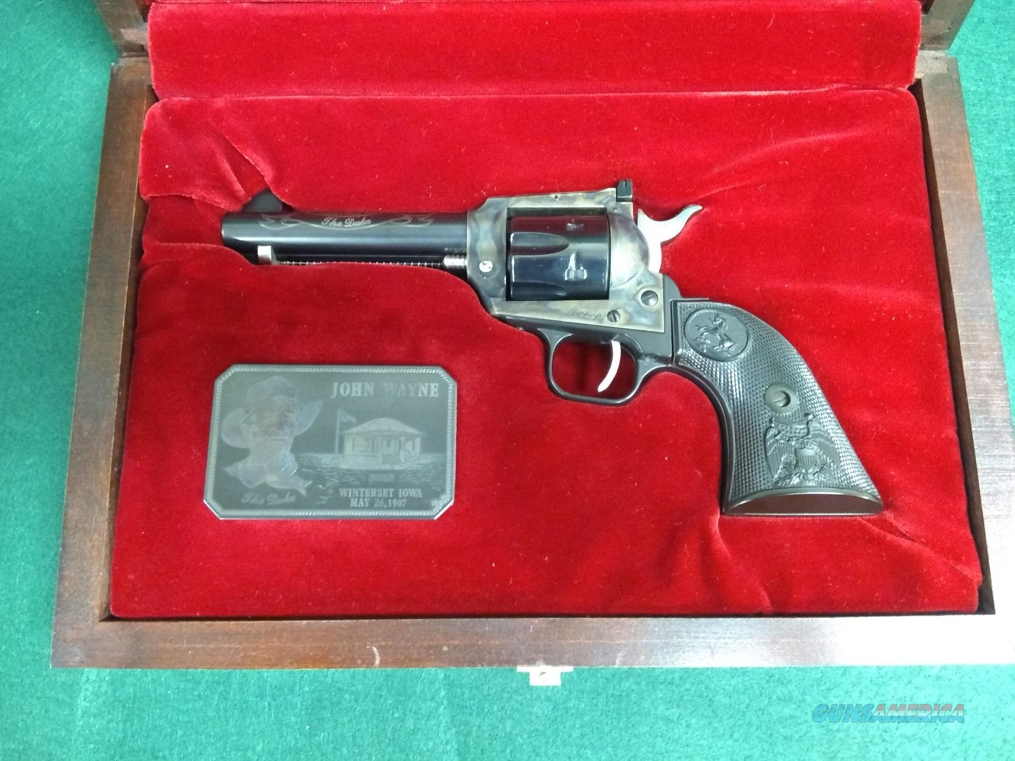 "Colt New Frontier 22LR - 4"" Barrel -  ""The Duke"" Model.   Guns > Pistols > Colt Single Action Revolvers - Modern (22 Cal.)"