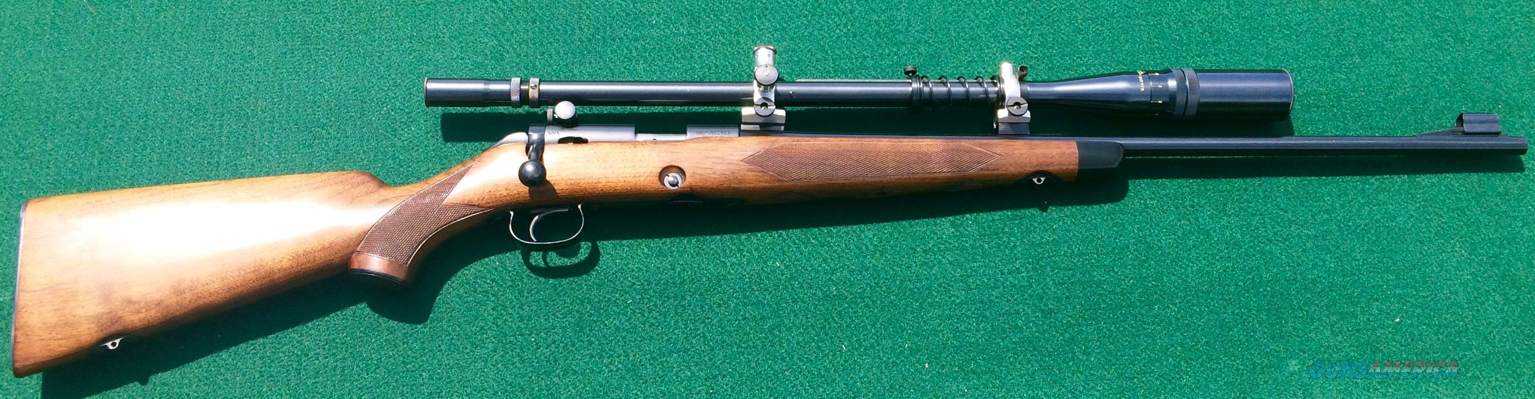 Winchester Model 52B Sporting Rifle  Guns > Rifles > Winchester Rifles - Modern Bolt/Auto/Single > Other Bolt Action