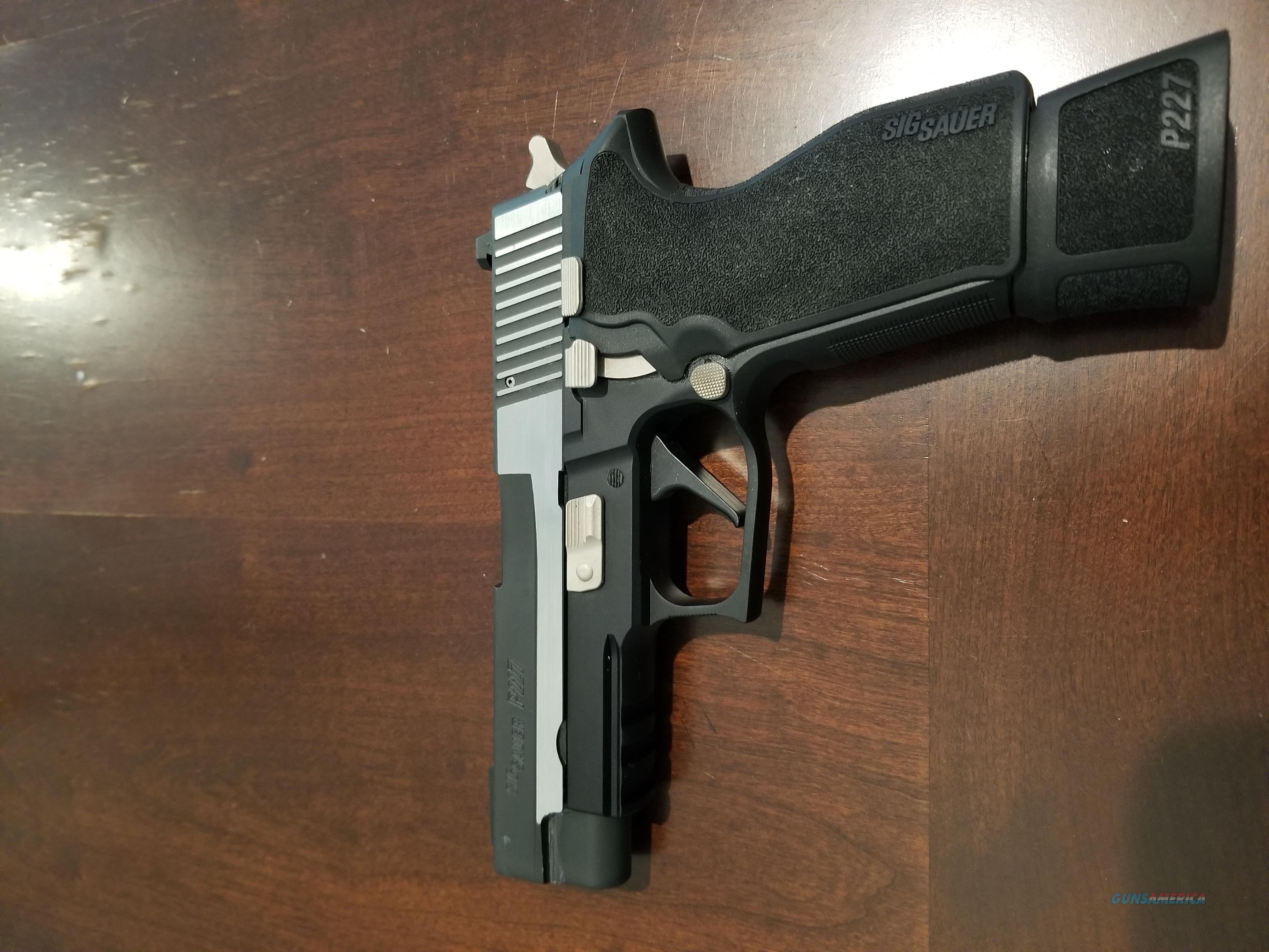 """P227 Sig Sauer P227R Equinox 45ACP 4.3"""" Two Toned with extended Mags  Guns > Pistols > Sig - Sauer/Sigarms Pistols > P227"""