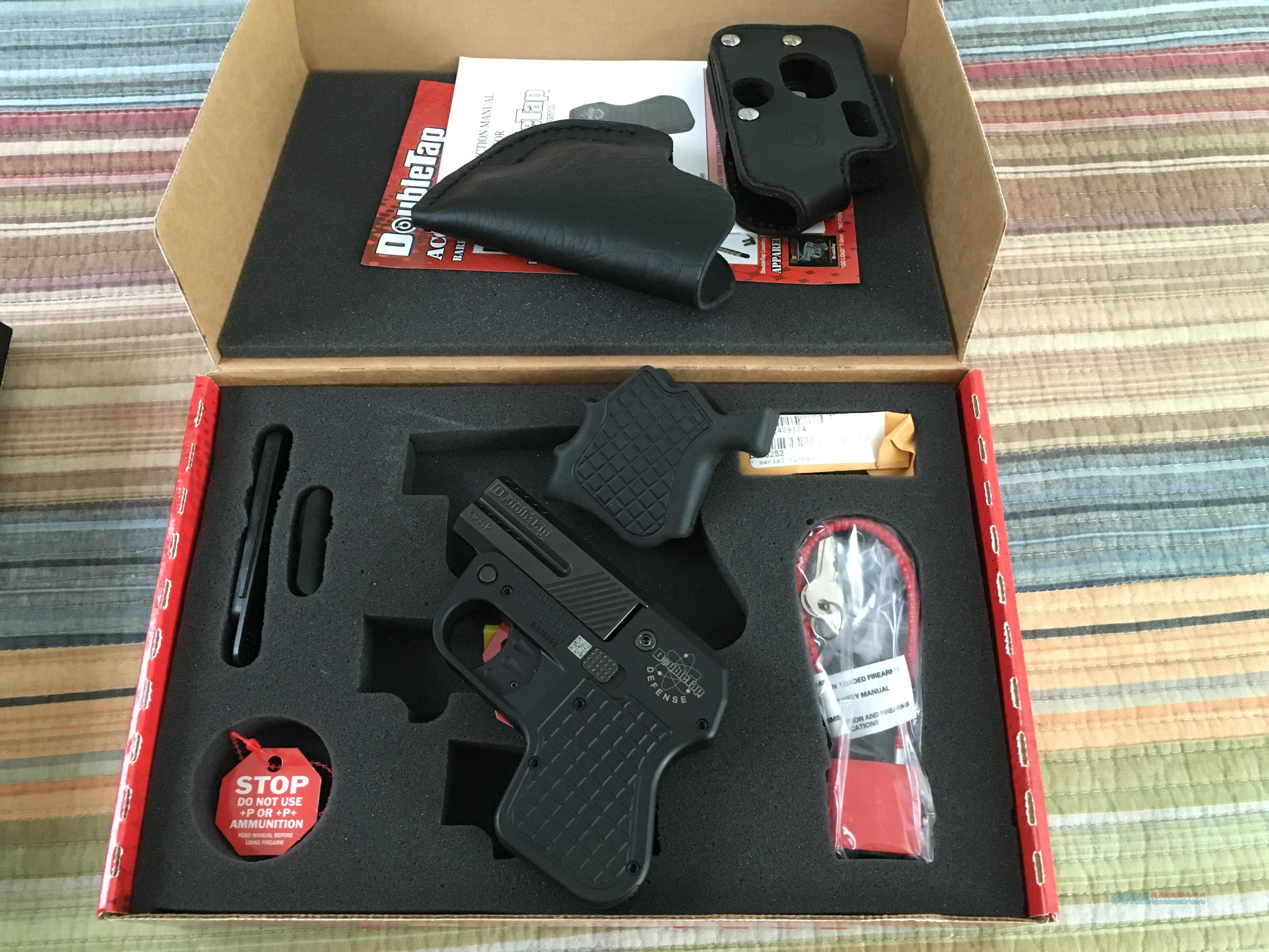 Double Tap 45 ACP with Training Grip and 2 Custom Holsters  Guns > Pistols > Double Tap Defense