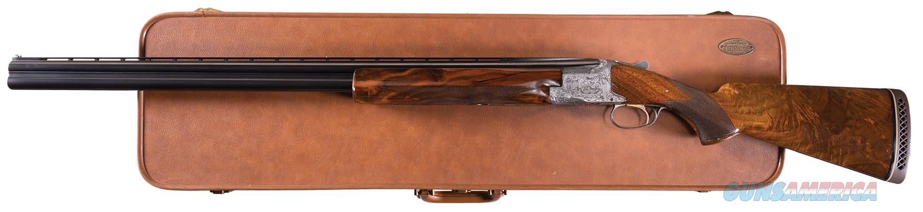 Factory Master Engraved Angelo Bee Signed Belgian Browning Diana Grade Superposed w/ case  Guns > Shotguns > Browning Shotguns > Over Unders > Belgian Manufacture