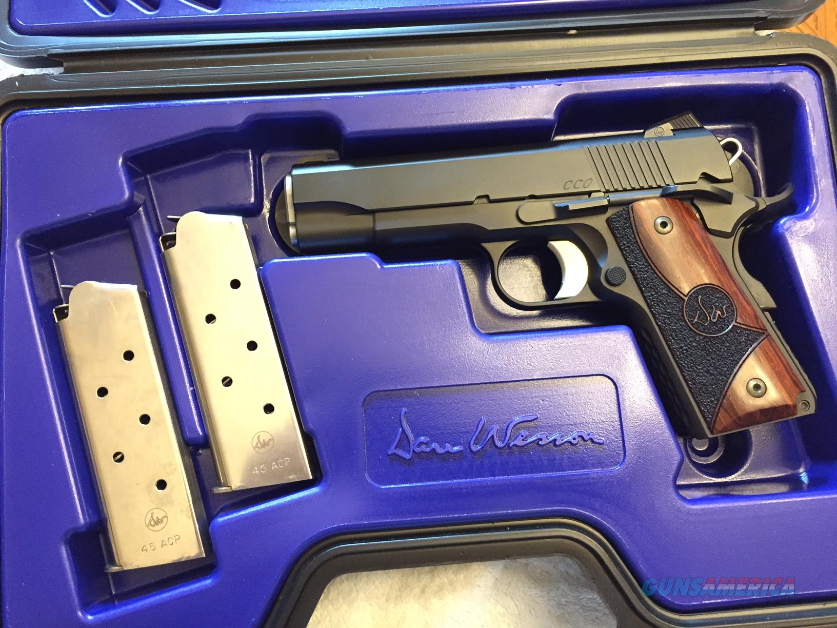 Dan Wesson CCO 45 ACP Custom - Exceptional - Used - Like New / low round count  Guns > Pistols > Dan Wesson Pistols/Revolvers > 1911 Style