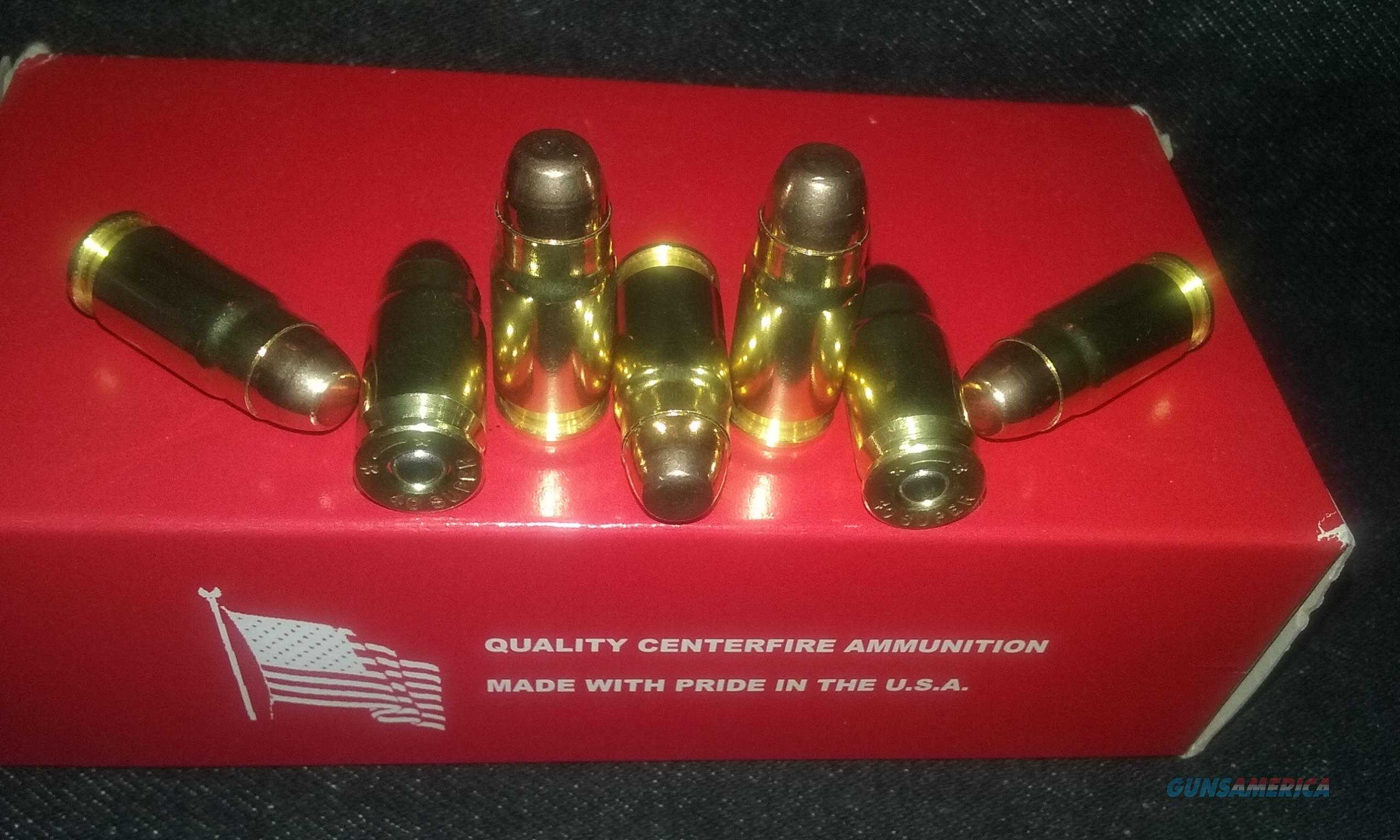 40 Super Ammo.  Non-Guns > Reloading > Components > Brass