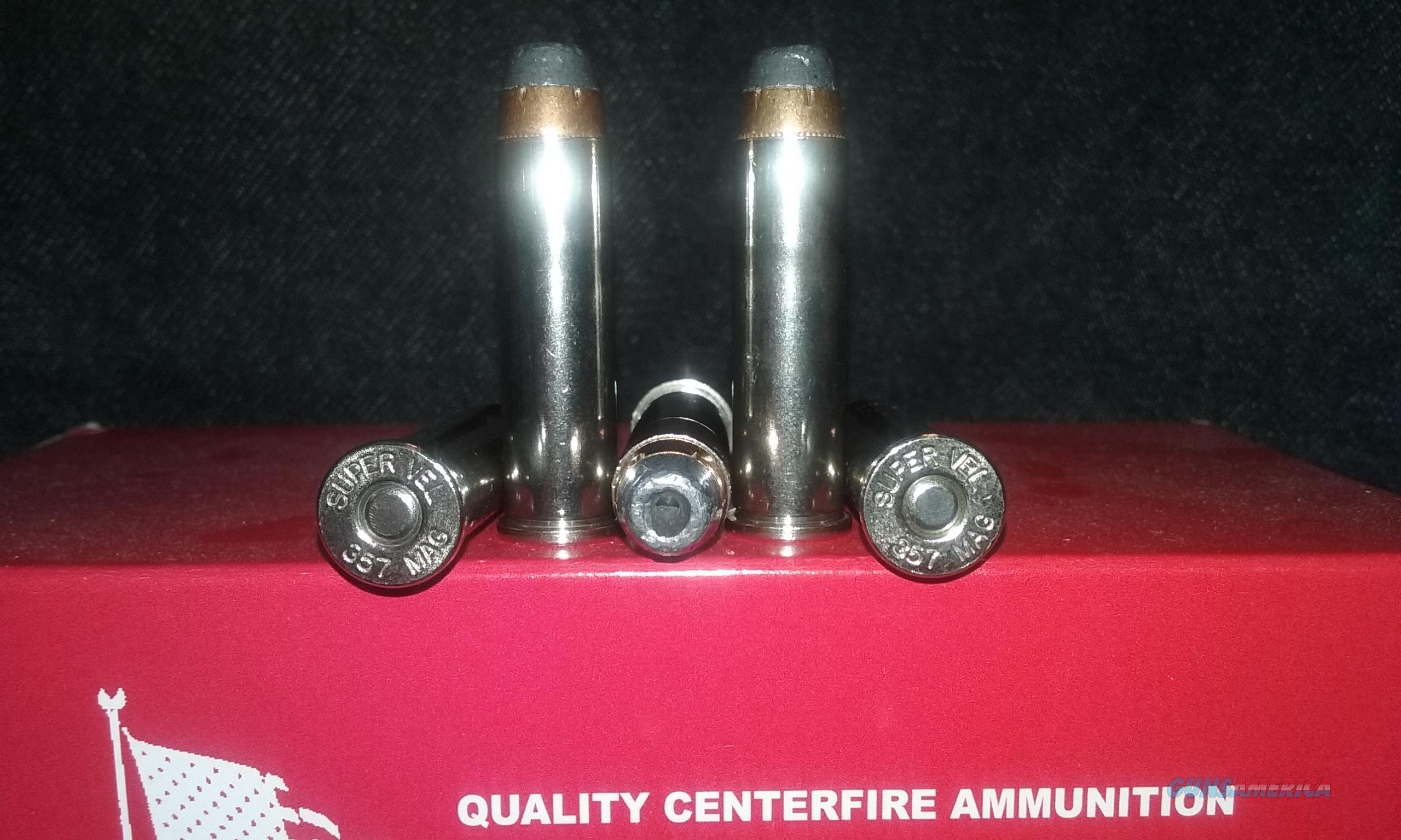 357 Magnum Ammo. (357 S&W Magnum)  Non-Guns > Ammunition