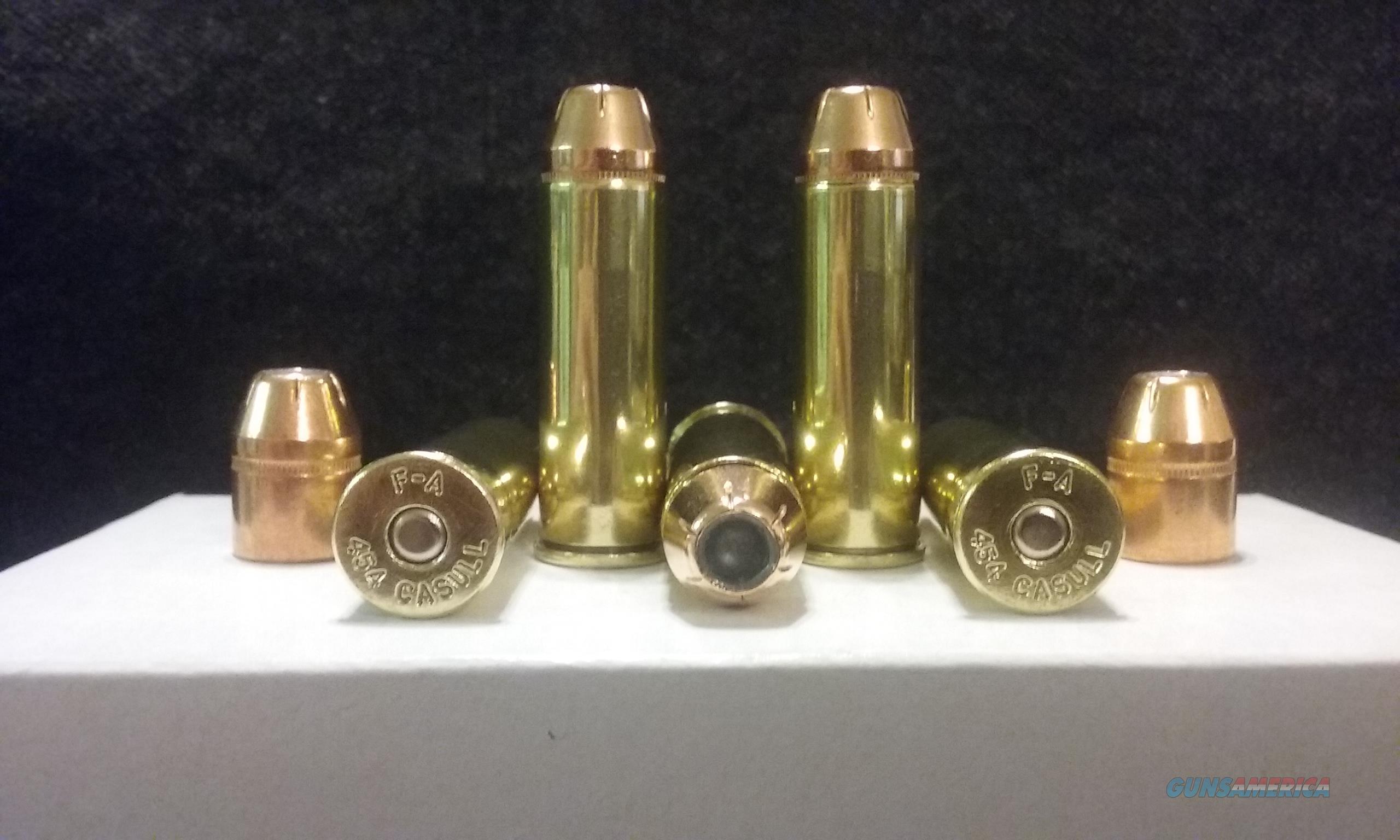 454 Casull Ammo.  Non-Guns > Ammunition