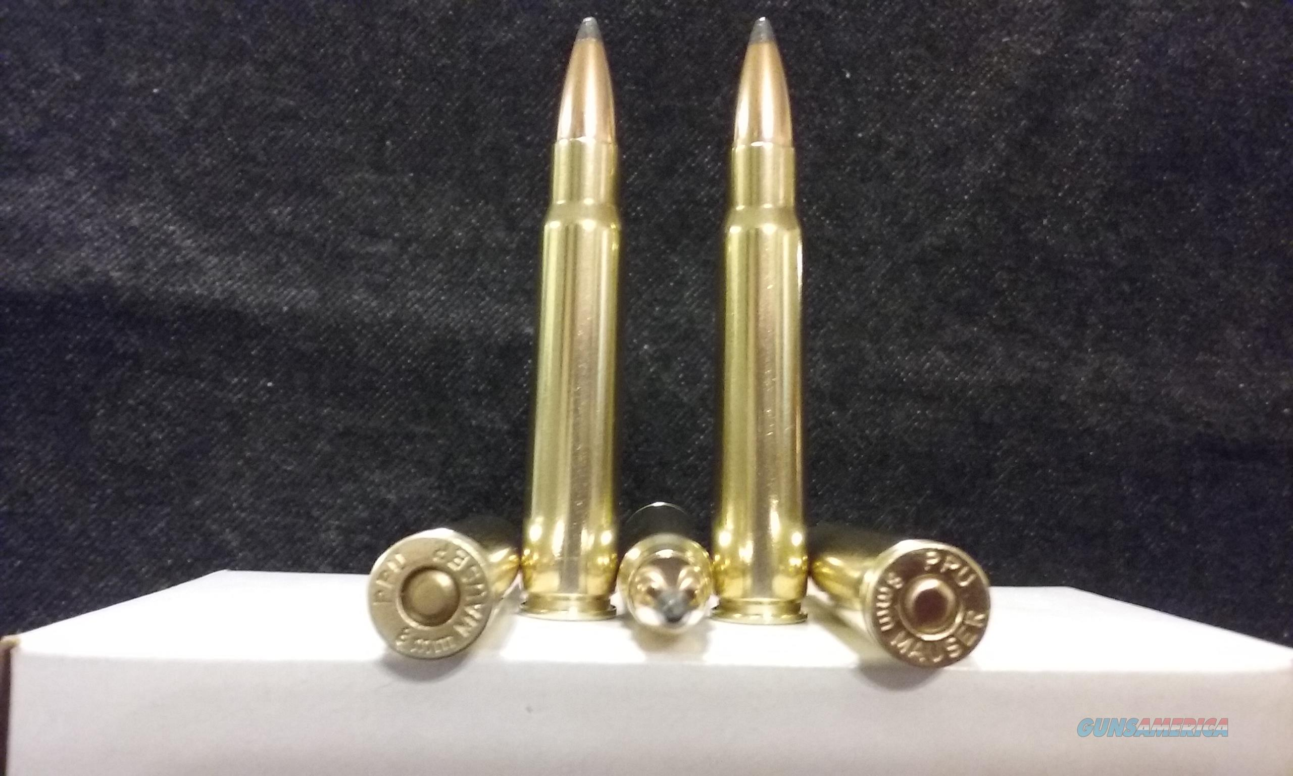 8X57mmJ Mauser Ammo. (7.92X57mmJ - .318)  Non-Guns > Ammunition