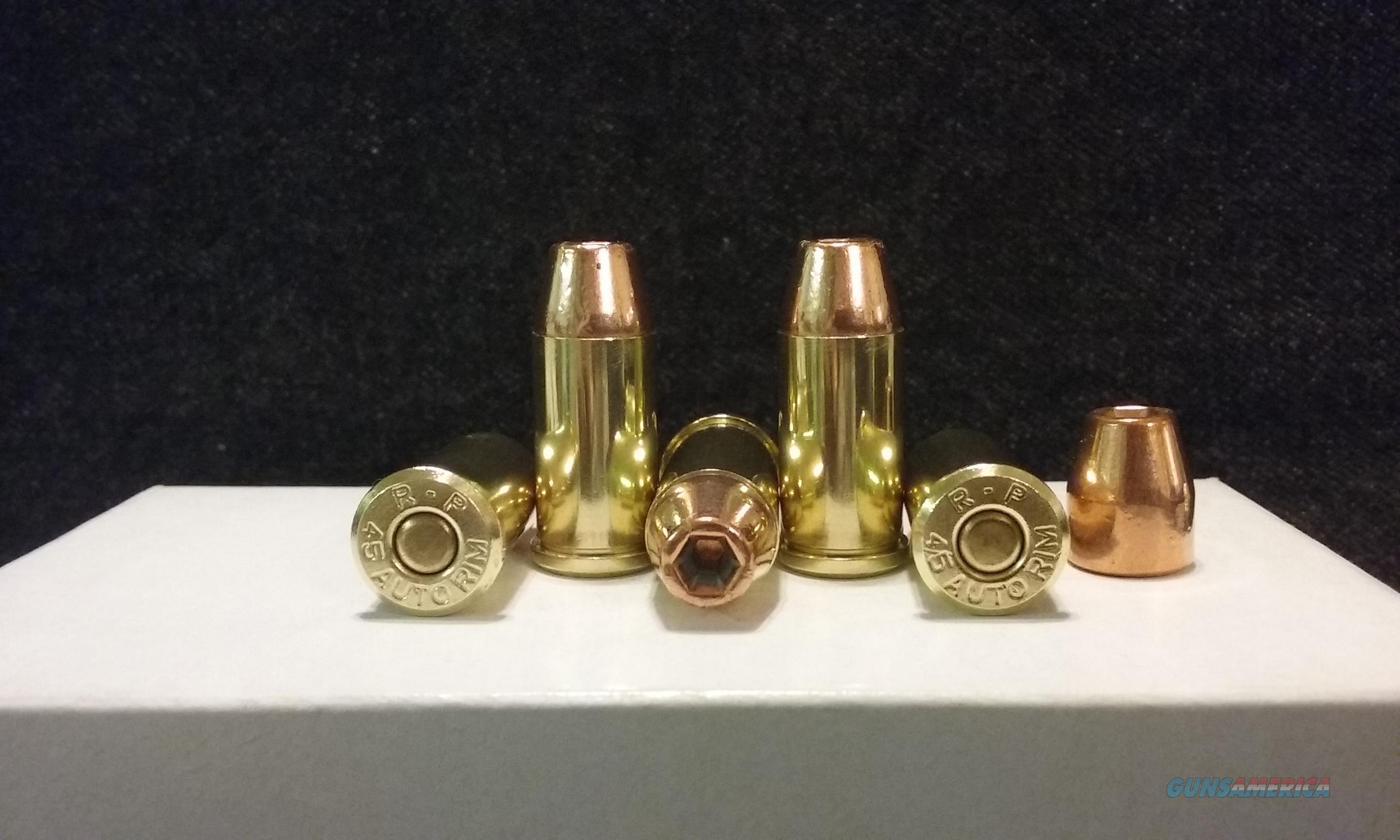 45 Auto Rim Ammo.  Non-Guns > Ammunition