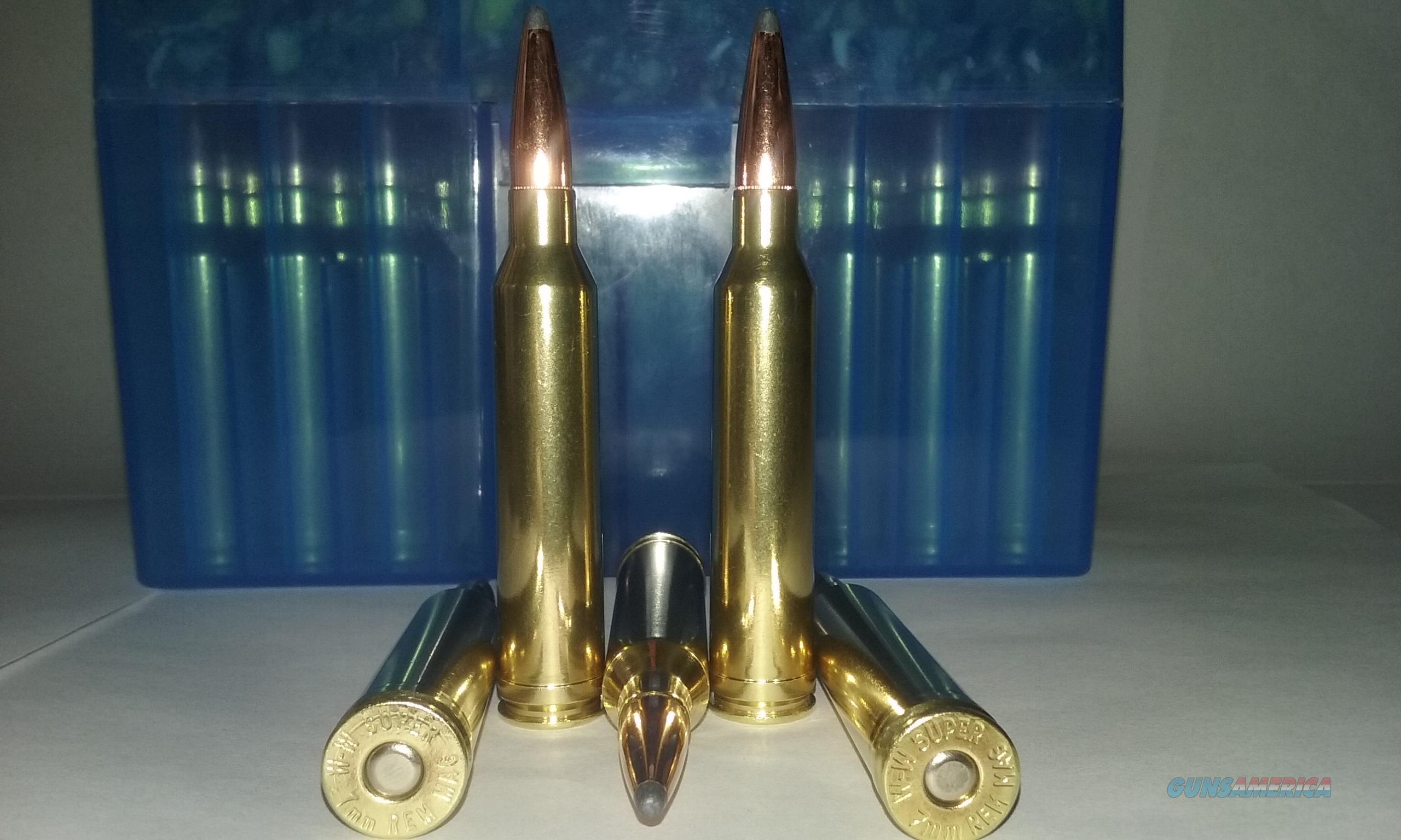 7mm Remington Magnum Ammo.  Non-Guns > Ammunition