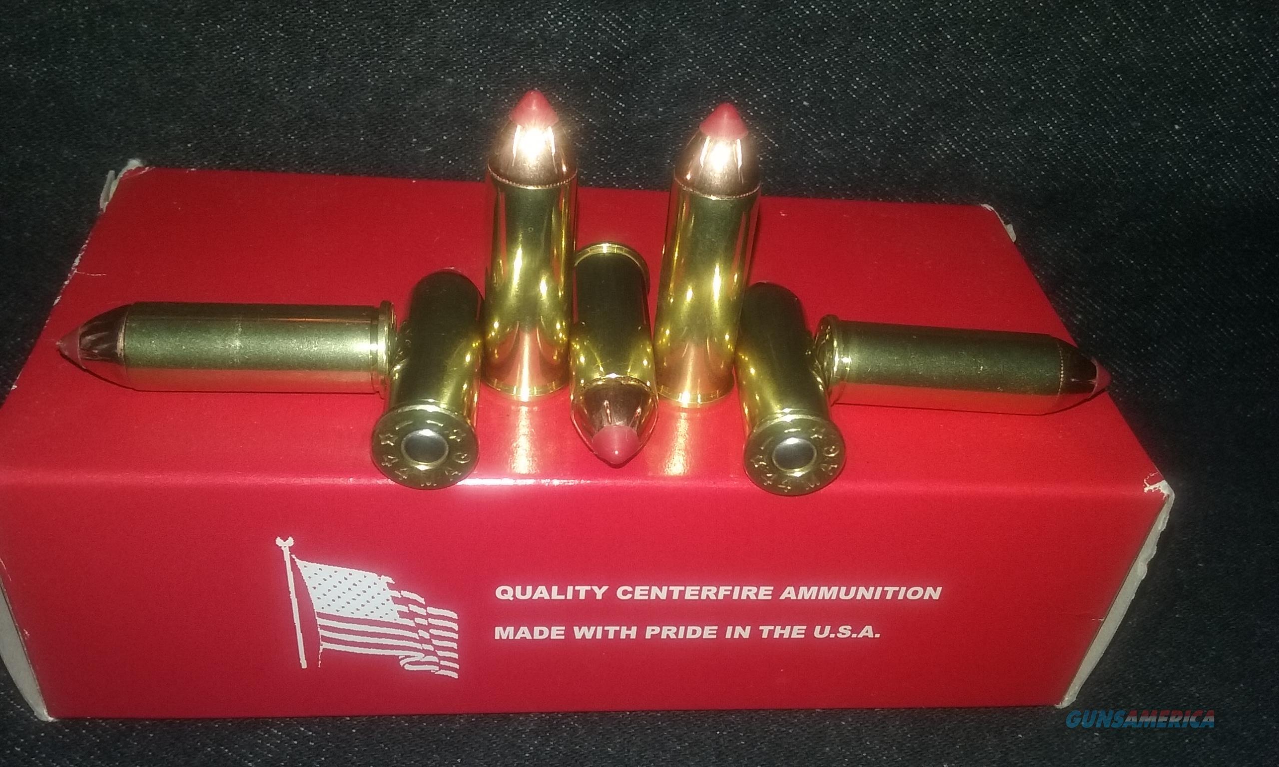 44 Magnum Rifle/Handgun Ammo. (44 Remington Magnum)  Non-Guns > Ammunition