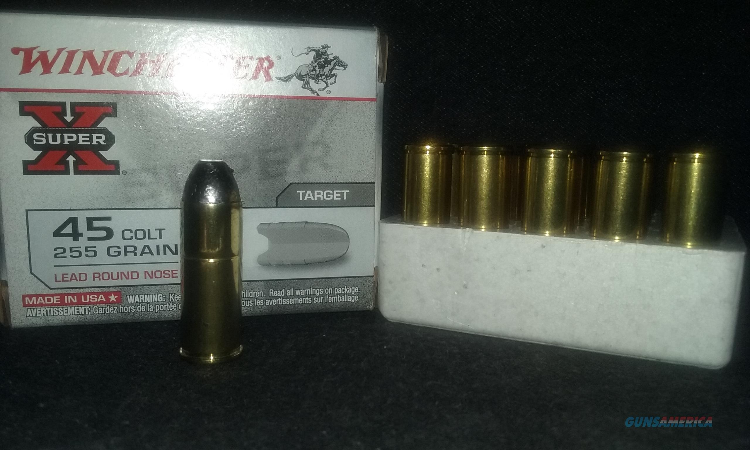 45 Colt FACTORY Ammo.  Non-Guns > Reloading > Components > Brass