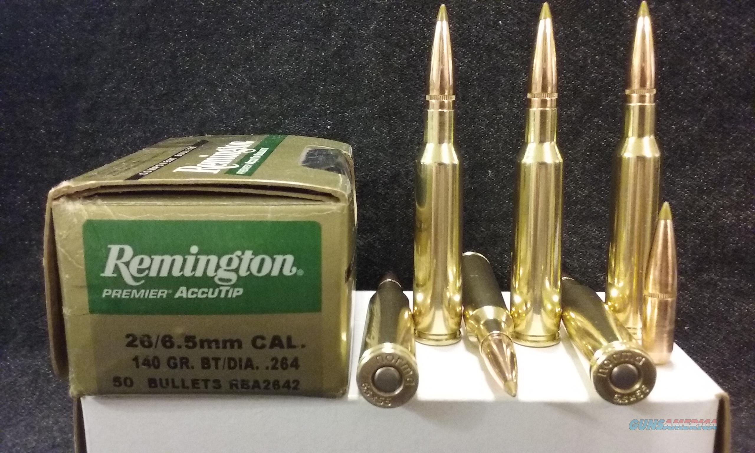 6.5X55 Swedish Mauser Ammo.  Non-Guns > Ammunition
