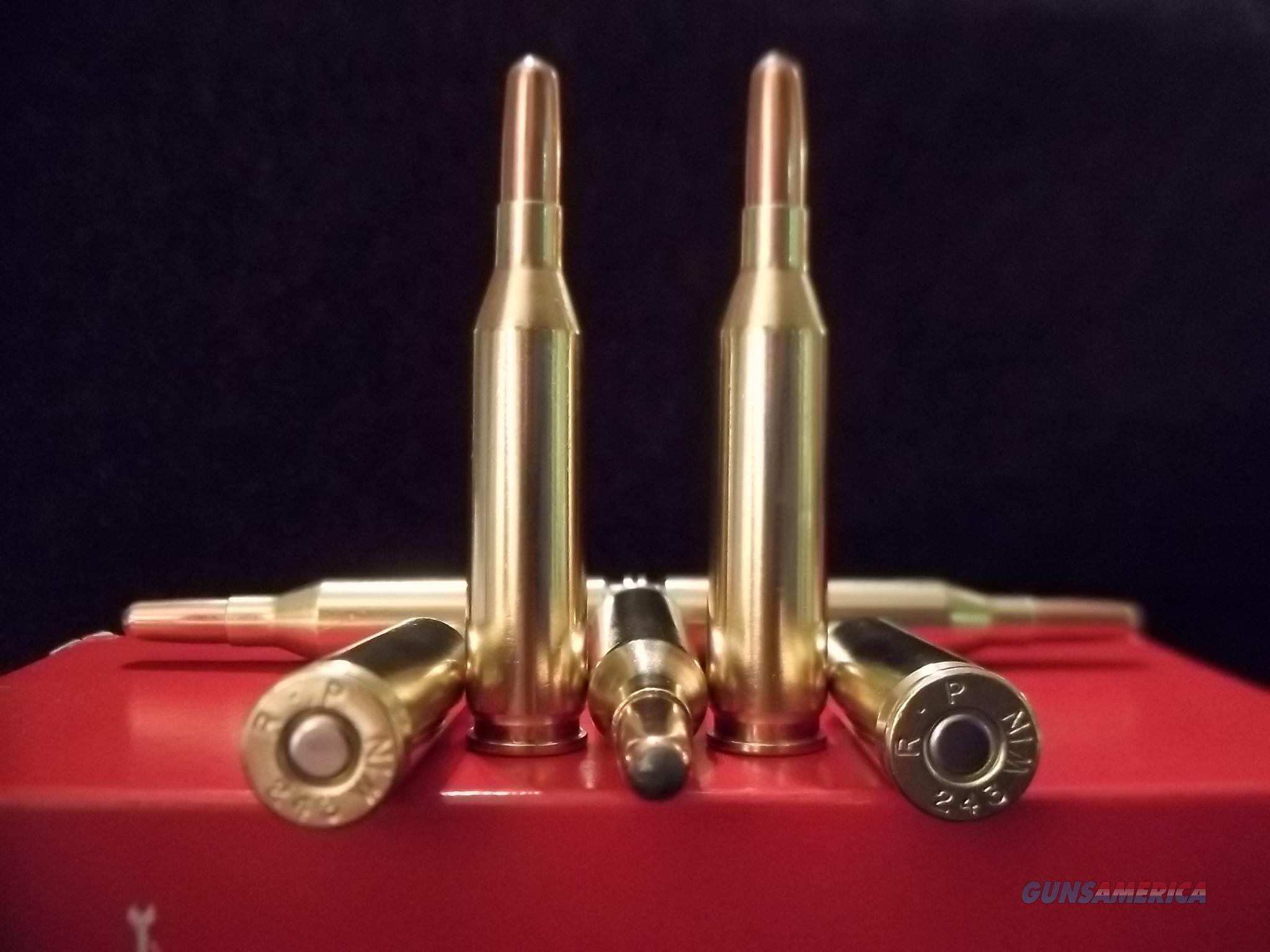 243 Winchester Ammo.  Non-Guns > Ammunition