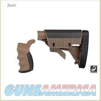 Strikeforce AR-15 stock kit, Desert Tan  Non-Guns > Gun Parts > M16-AR15 > Upper Only