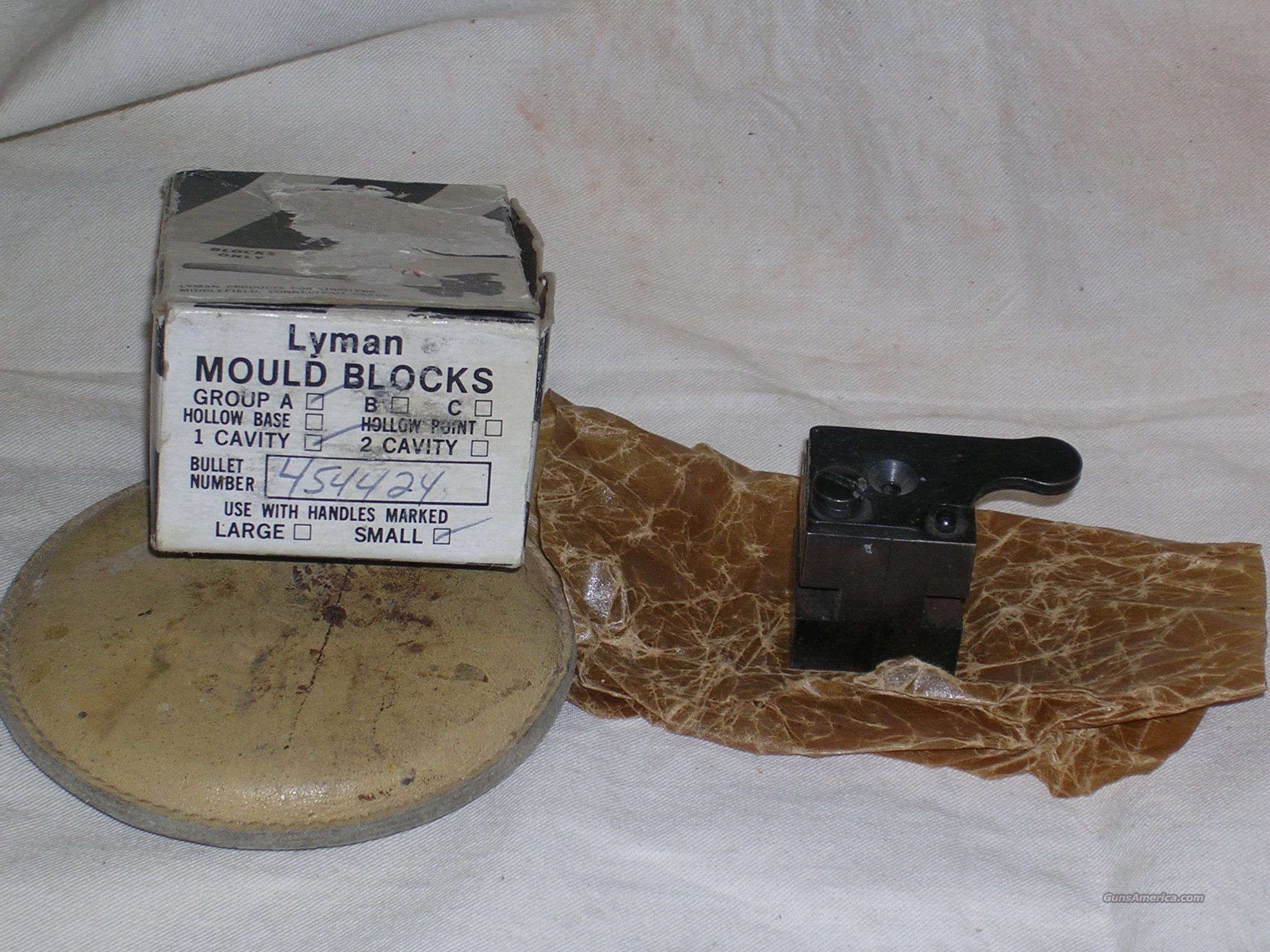 454 single cavity Lyman mold blocks  Non-Guns > Bullet Making Supplies