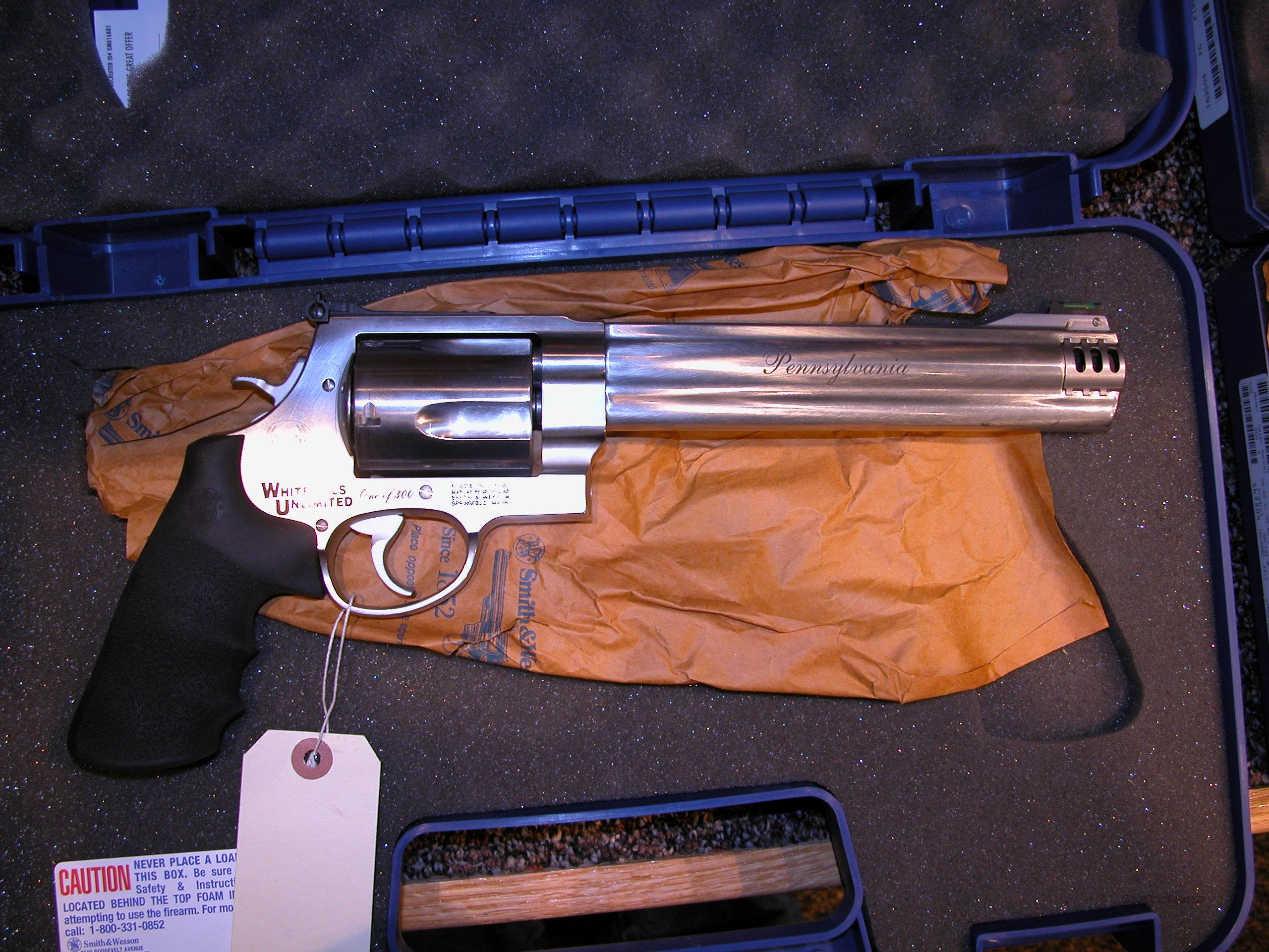 Smith & Wesson 460 Magnum  Guns > Pistols > Smith & Wesson Revolvers > Full Frame Revolver
