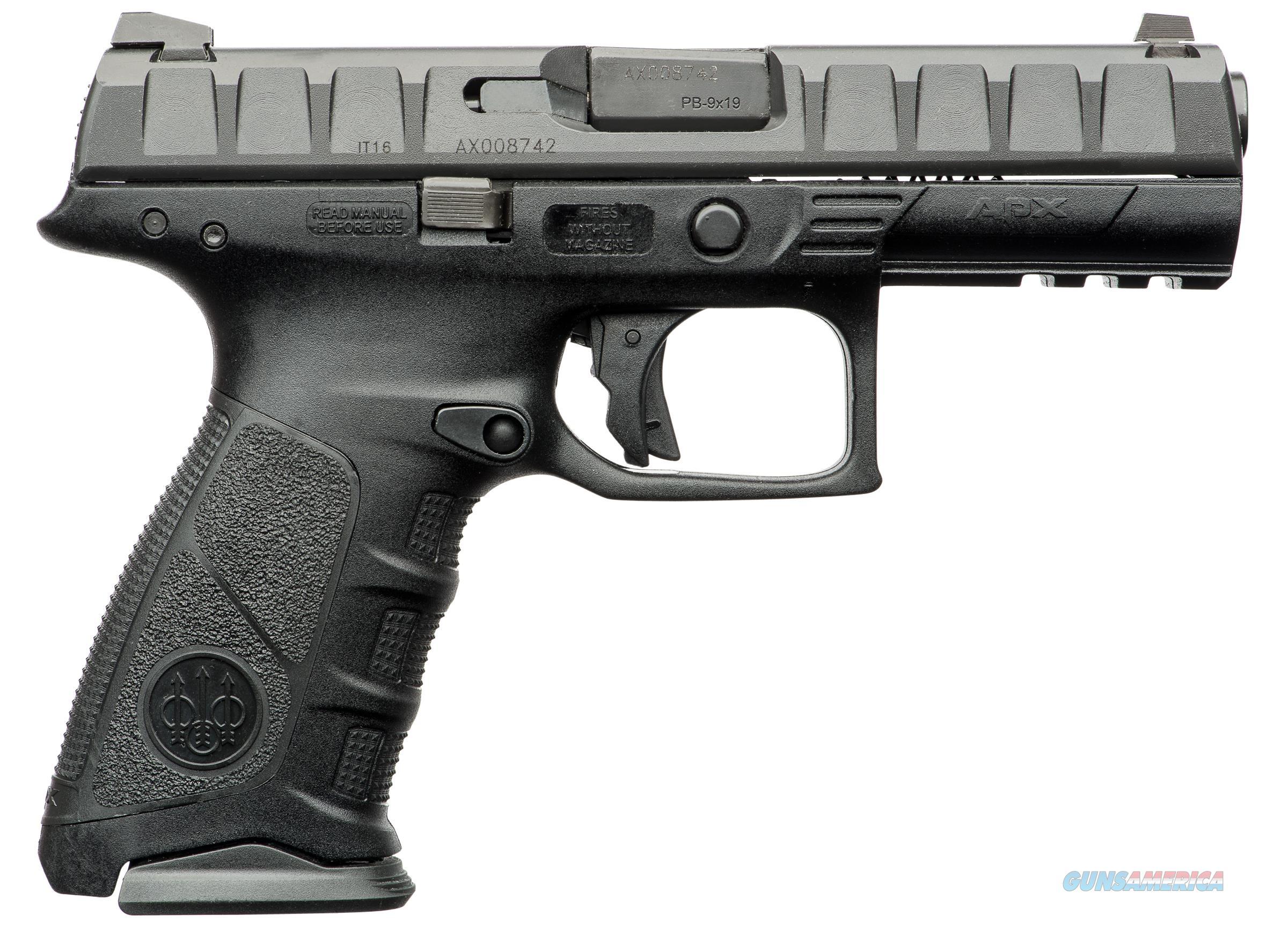 """Beretta APX JAXF921 9mm Luger 4.25"""" 17+1  Guns > Pistols > Beretta Pistols > Polymer Frame"""