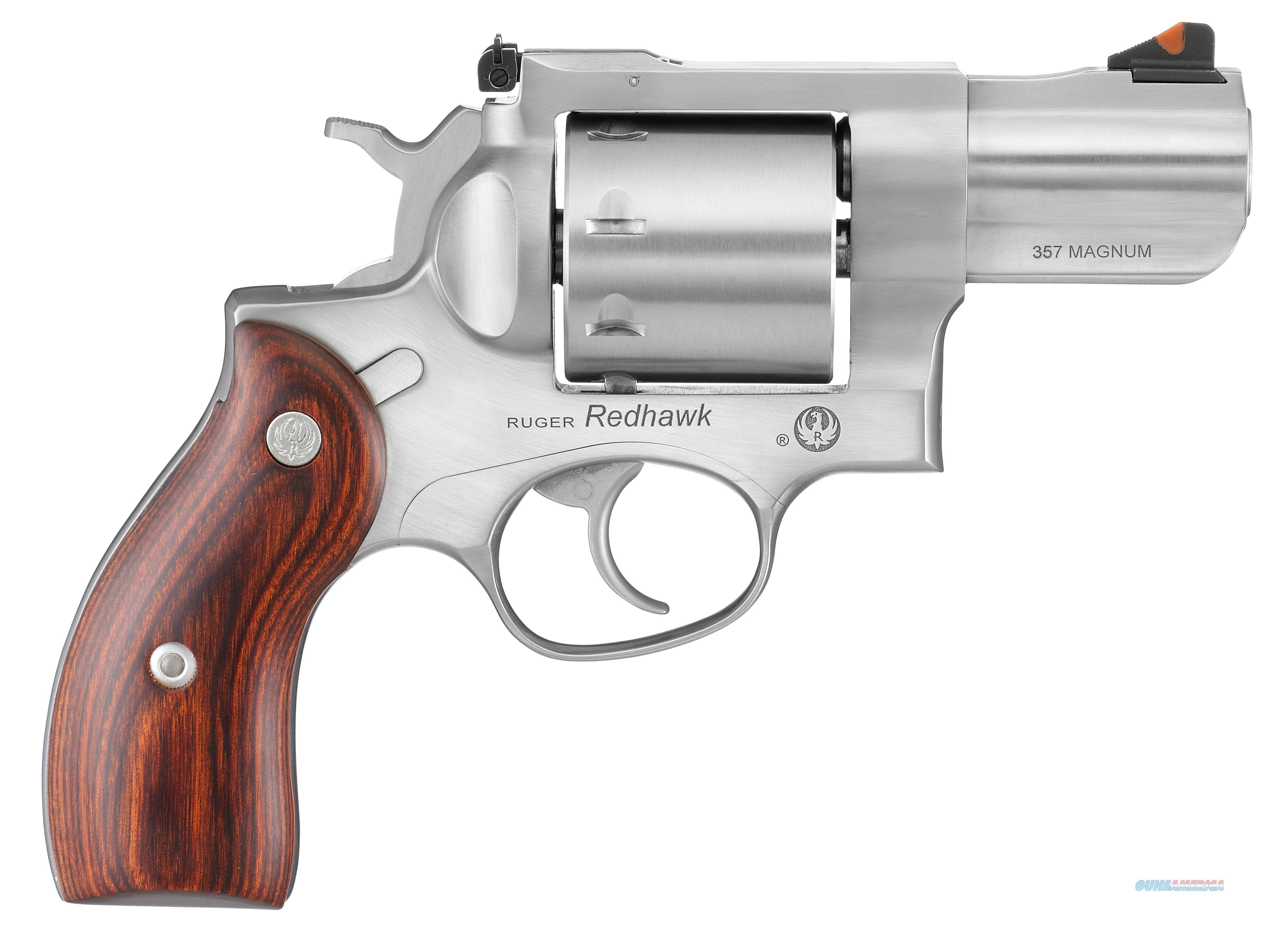 Ruger Redhawk 8 shot .357 Mag Stainless 5033  Guns > Pistols > Ruger Double Action Revolver > Redhawk Type