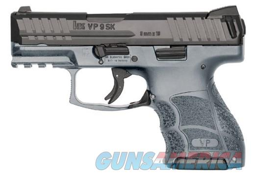 Heckler and Koch HK VP9SK  Black/Gray 9mm 3.4inch 10rd  Guns > Pistols > Heckler & Koch Pistols > Polymer Frame