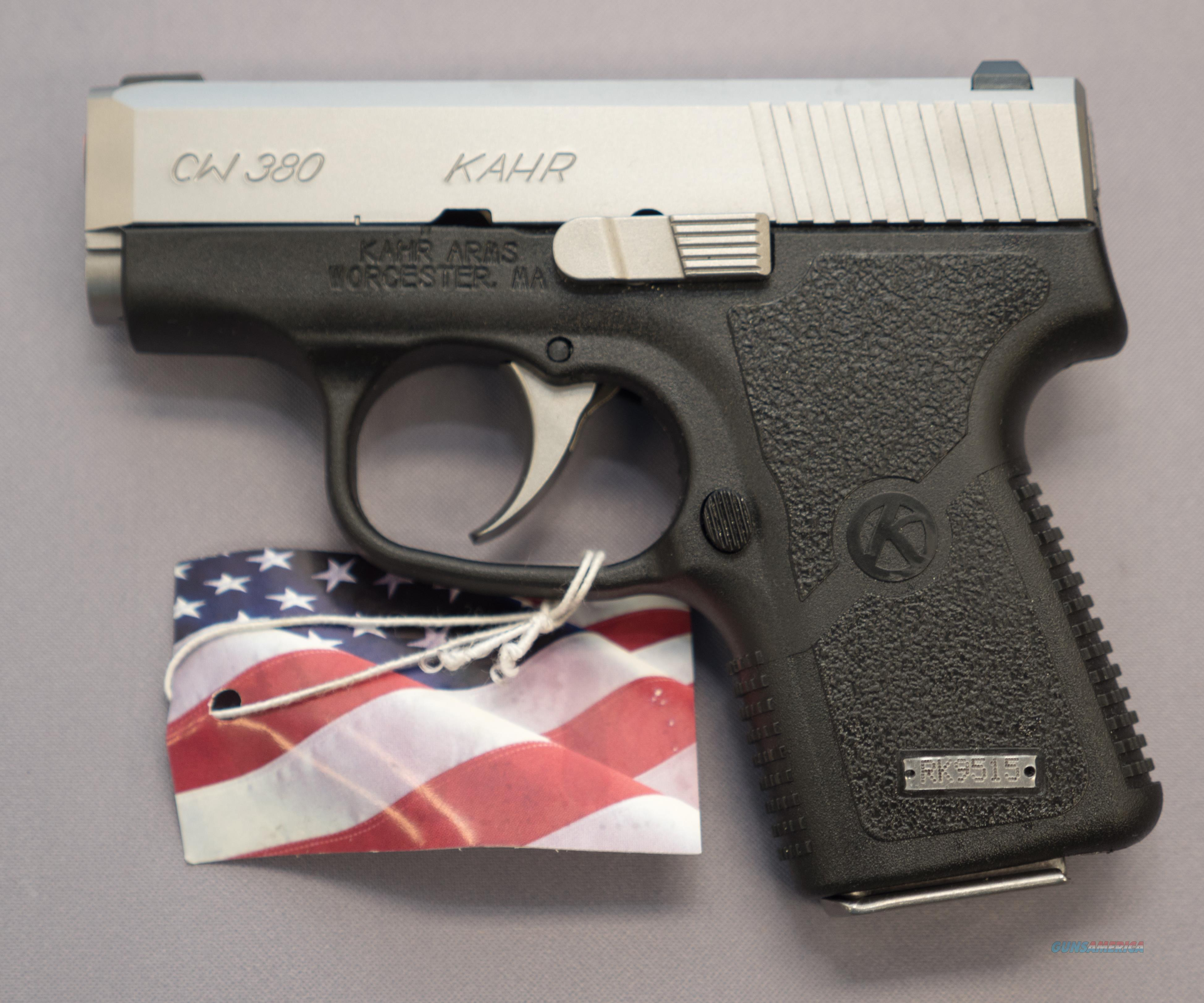 Kahr CW380 .380 ACP 6+1 Capacity No Credit Cards Fees $15 Flat rate shipping  Guns > Pistols > Kahr Pistols