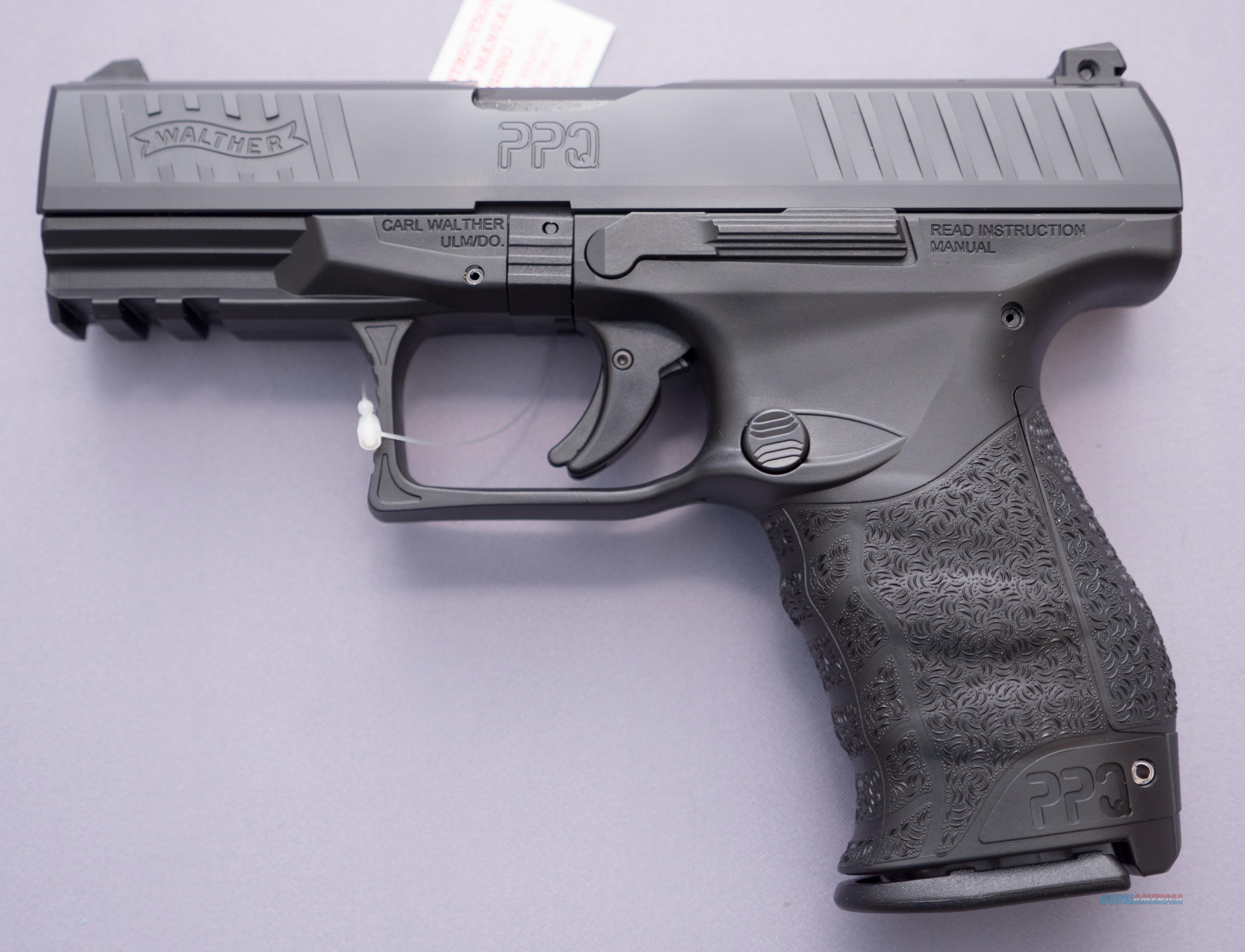"Walther PPQ M2 DAO 9mm 4"" 15+1  No CC Fees $15 flat fee shipping  Guns > Pistols > Walther Pistols > Post WWII > P99/PPQ"