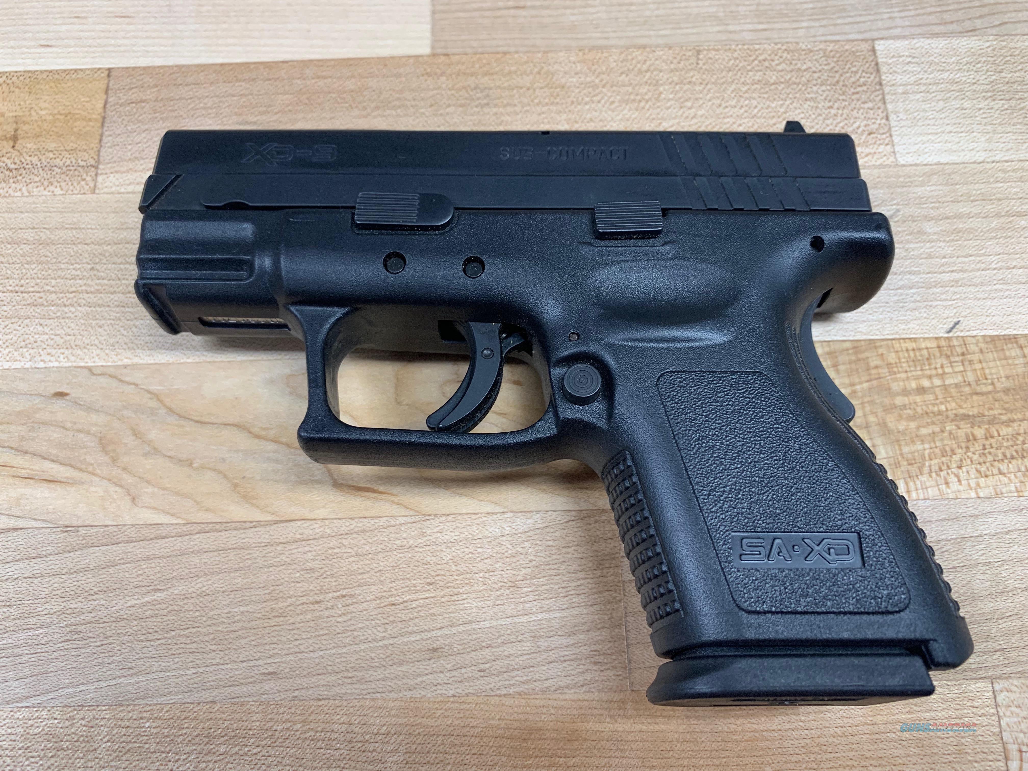 Springfield Armory XD9801HCSPO6   Guns > Pistols > Springfield Armory Pistols > XD (eXtreme Duty)