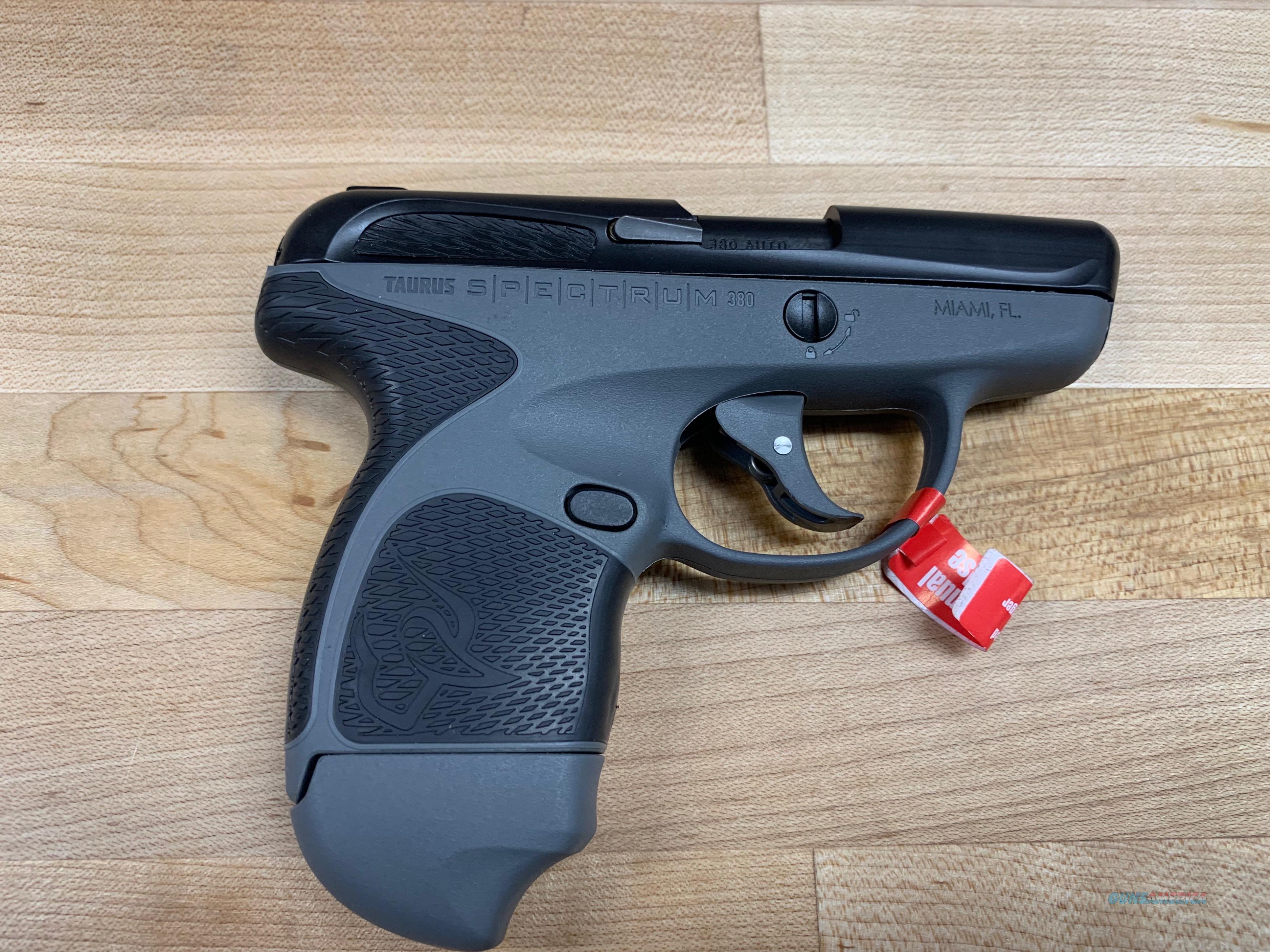 Taurus 1007031201 Spectrum 380   Guns > Pistols > Taurus Pistols > Semi Auto Pistols > Polymer Frame