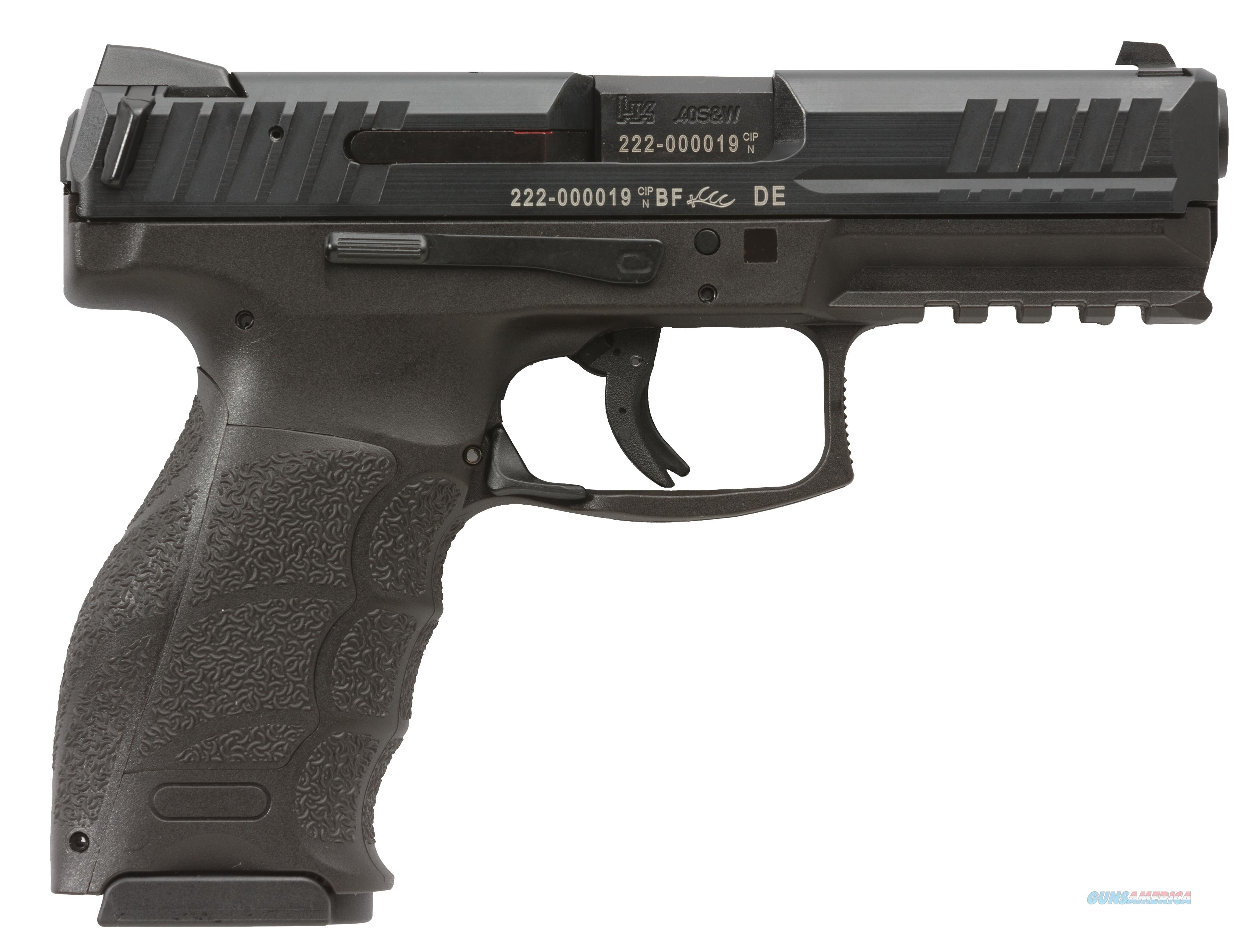 HK VP40 with Night Sights .40S&W 13+1 capacity includes 3 mags  Guns > Pistols > Heckler & Koch Pistols > Polymer Frame