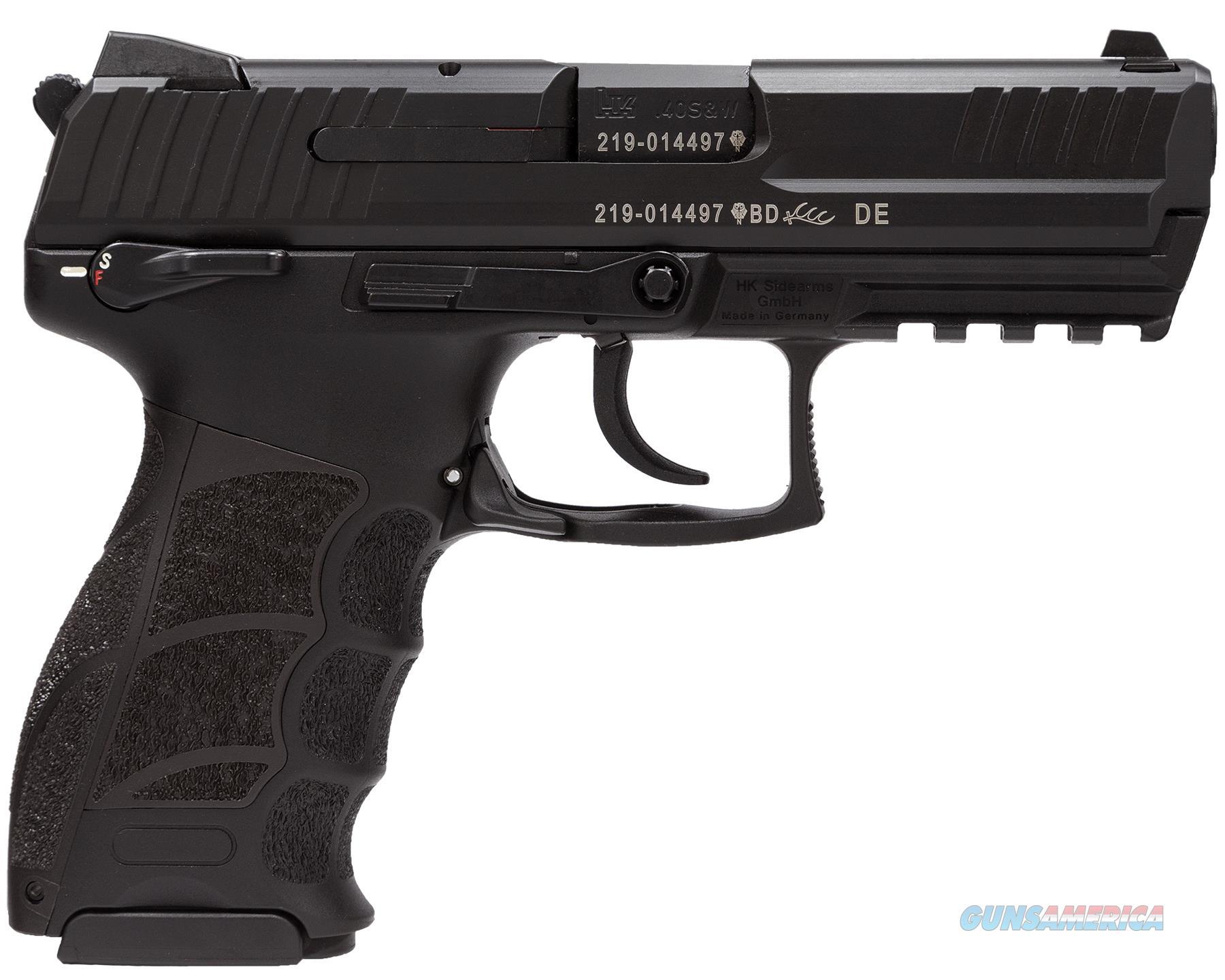 Heckler and Koch HK P30S V3 Black .40 SW 3.9inch 13rd DA/SA Safety/Decocker  Guns > Pistols > Heckler & Koch Pistols > Polymer Frame