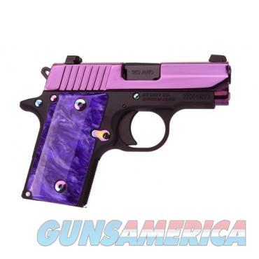 SIG SAUER P238 PSP .380 ACP PISTOL, PURPLE WITH NIGHT SIGHTS  Guns > Pistols > Sig - Sauer/Sigarms Pistols > P238