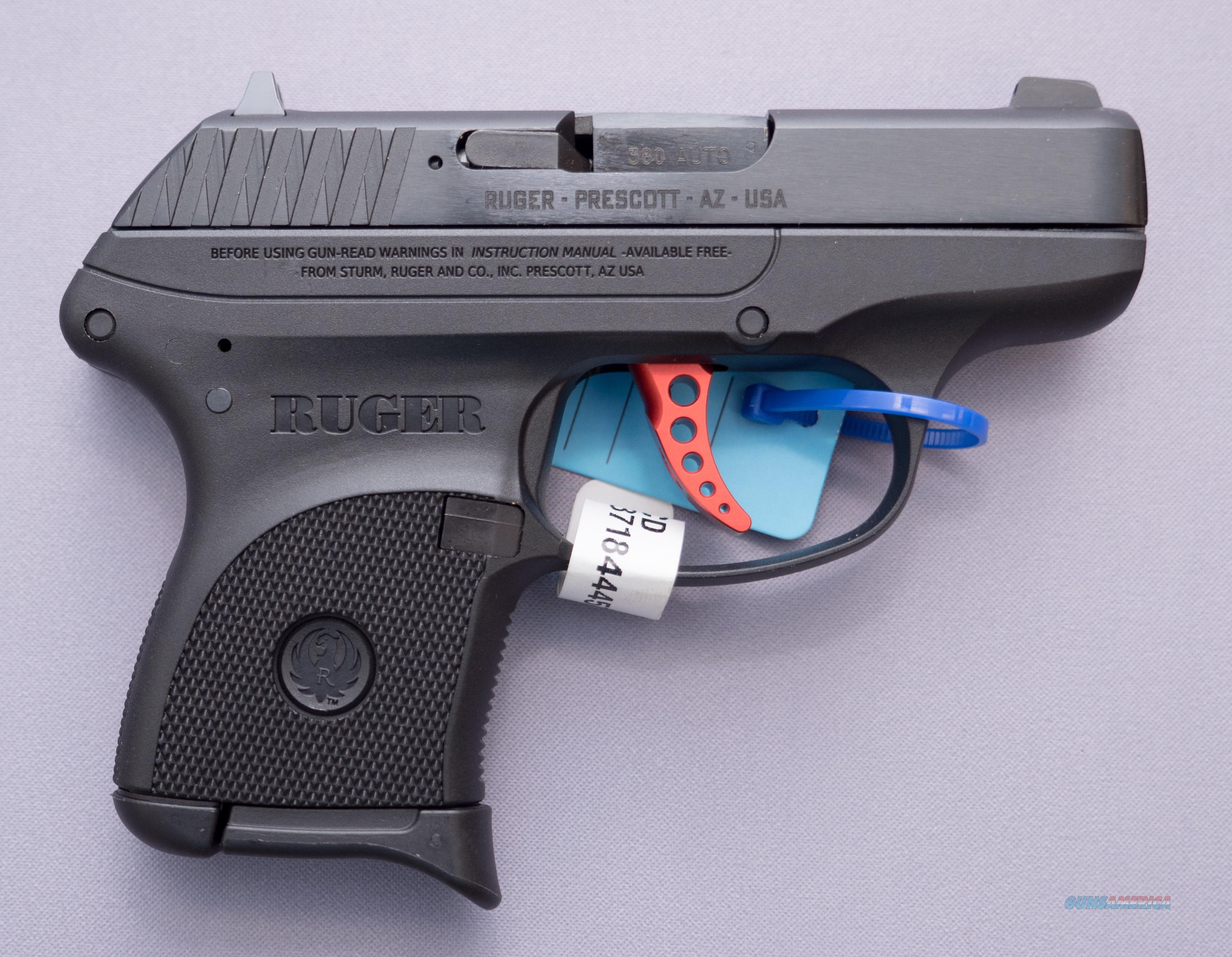 Ruger LCP .380 ACP Red Skelitonized Trigger NO CC Fees  Guns > Pistols > Ruger Semi-Auto Pistols > LCP