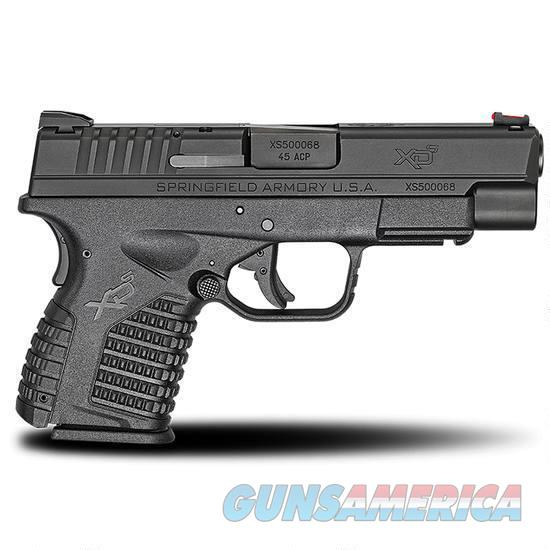 "XDS 45 4.0"" Black  6+1, XDS94045BE  Guns > Pistols > Springfield Armory Pistols > XD-S"