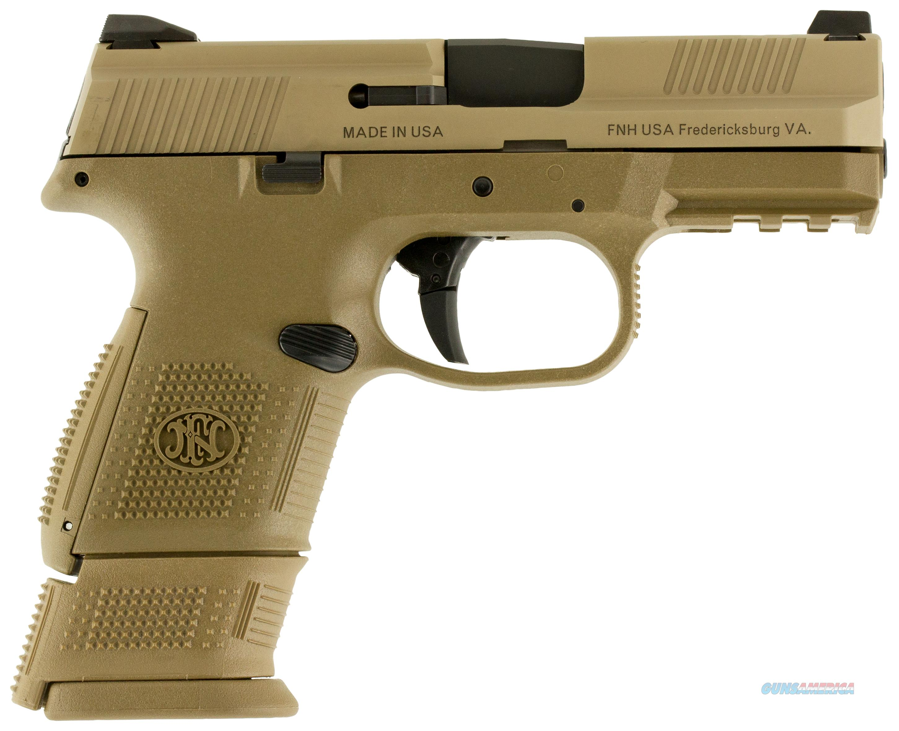 FNS-9c Compact 9mm FDE 12+1 and 17+1 Magazines   Guns > Pistols > FNH - Fabrique Nationale (FN) Pistols > FNS