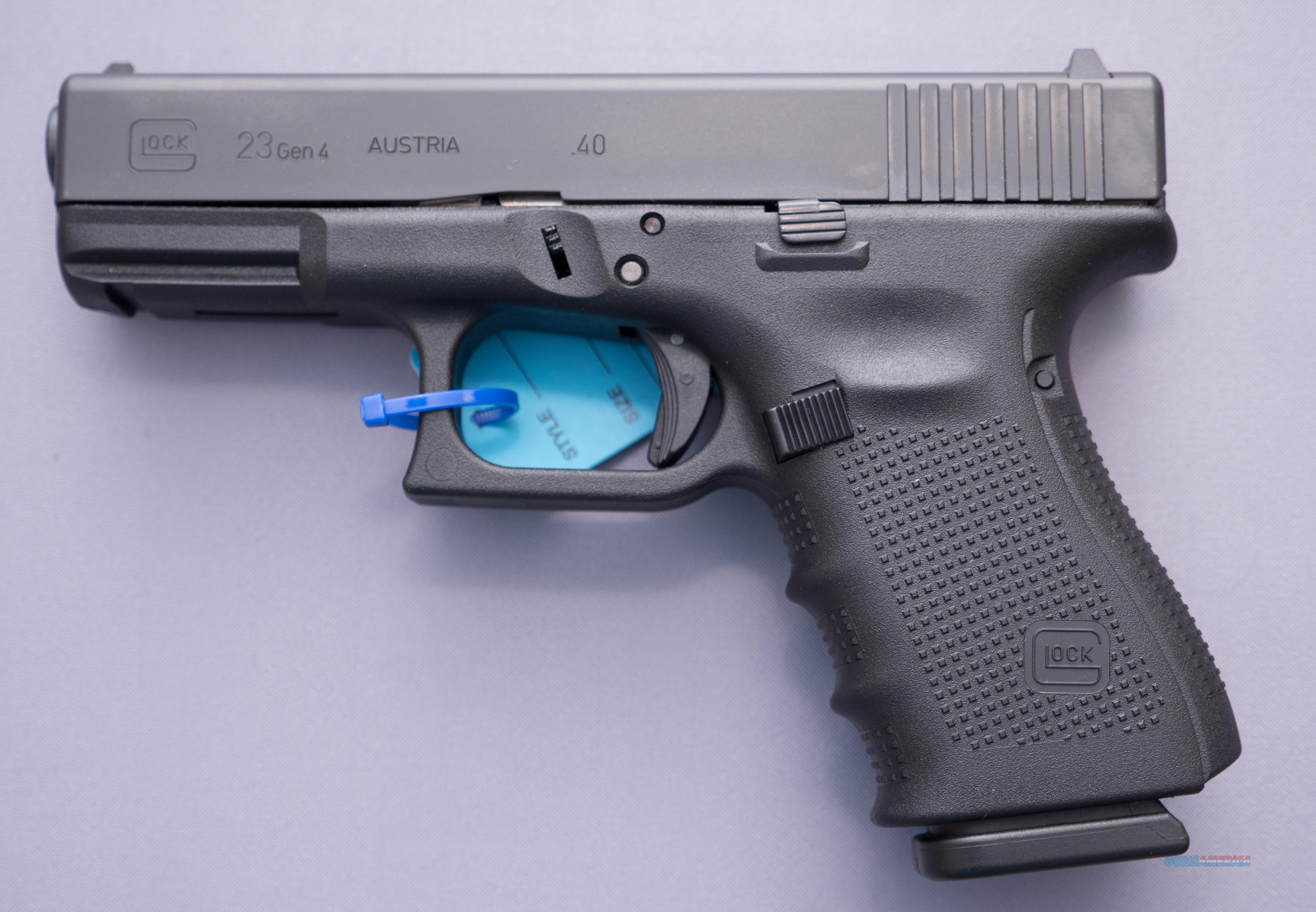 GLOCK 23 Gen4 .40S&W 13+1   Free Shipping   Guns > Pistols > Glock Pistols > 23