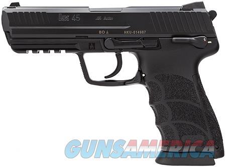 HK HK45 V1 DA/SA .45acp 10rd Black  Guns > Pistols > Heckler & Koch Pistols > Polymer Frame