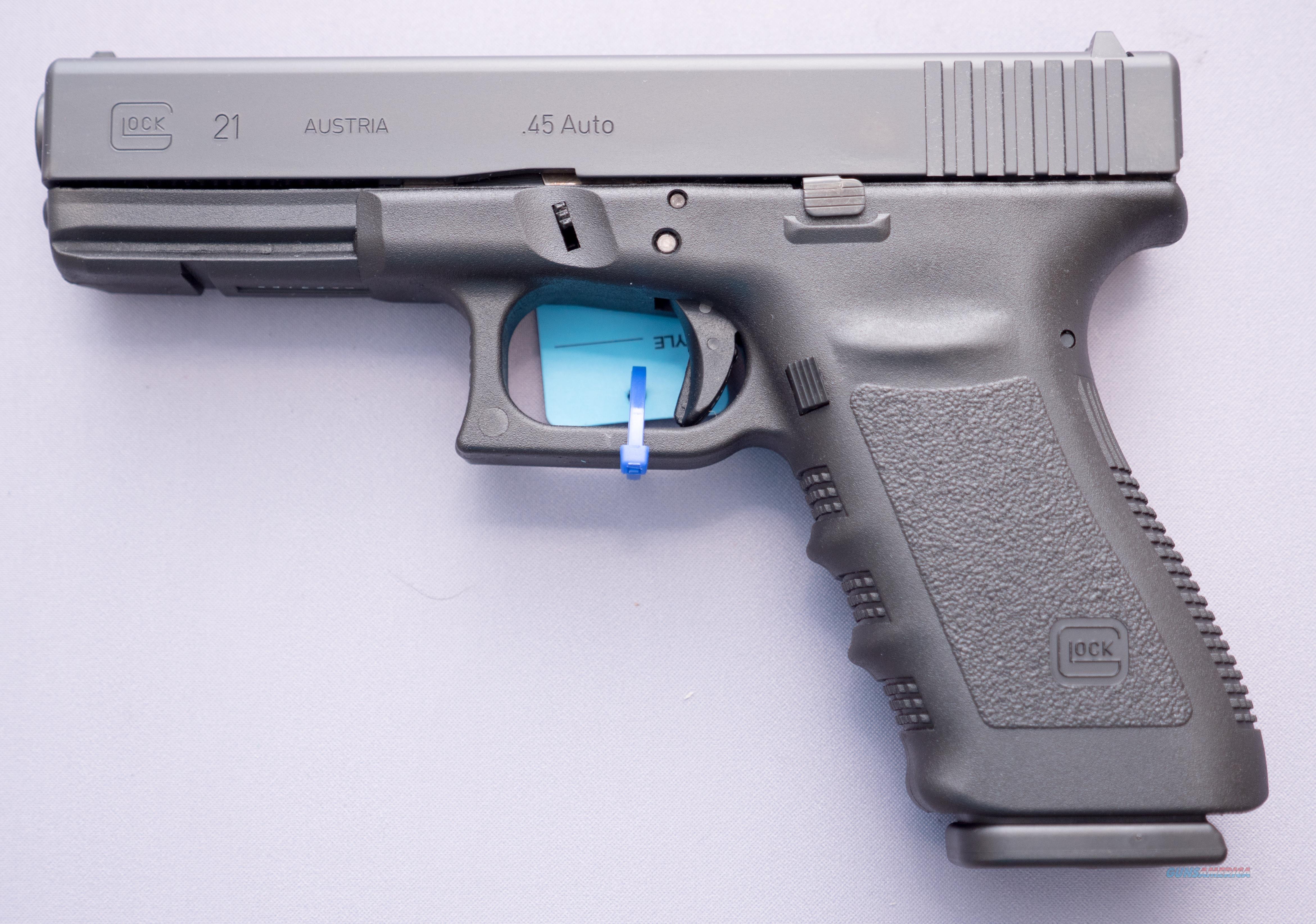 Glock 21SF Short Frame .45ACP 13+1  NO CC FEE's  Guns > Pistols > Glock Pistols > 20/21