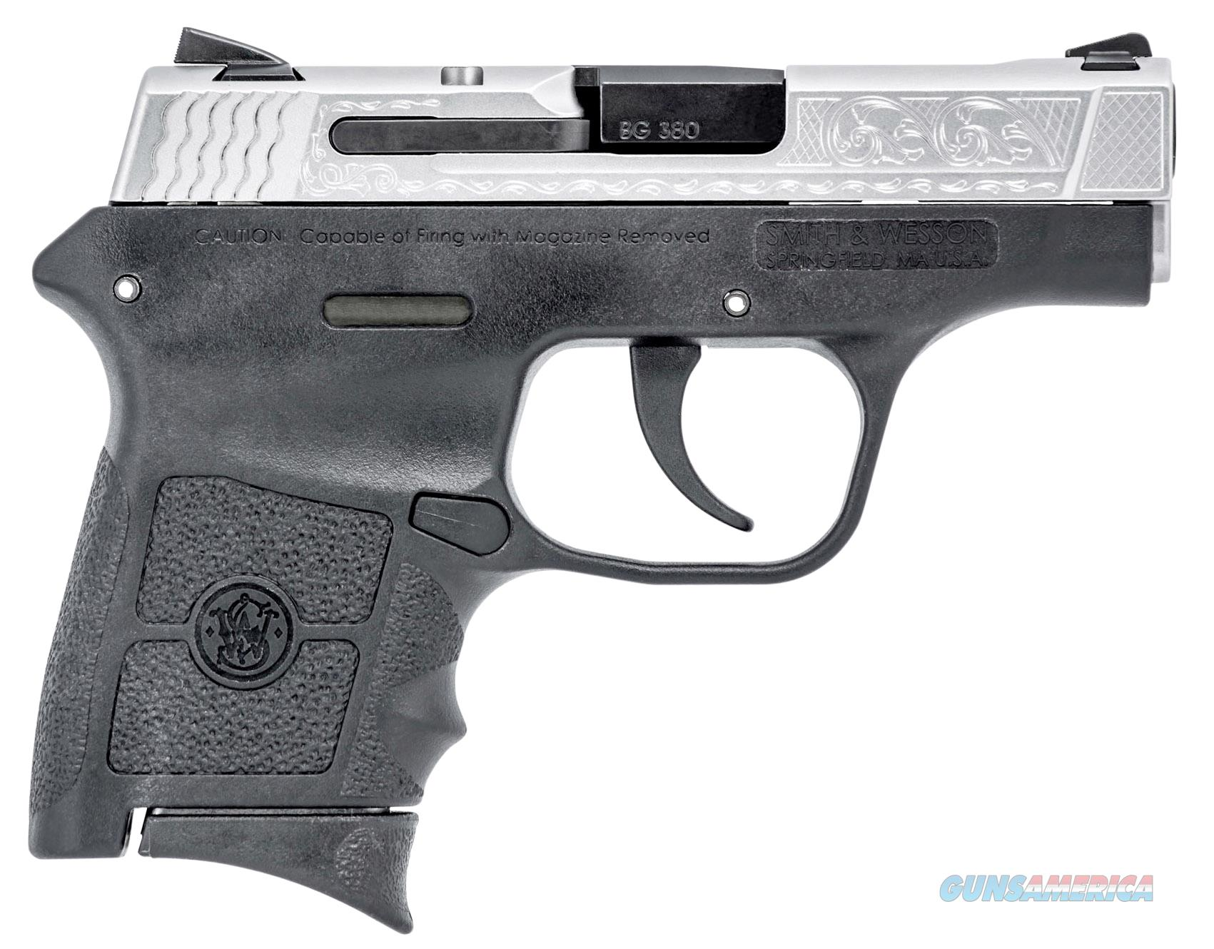 M&P BODYGUARD 380 ENGRAVED  $15 Flat Rate Shipping NO CC Fees  Guns > Pistols > Smith & Wesson Pistols - Autos > Polymer Frame