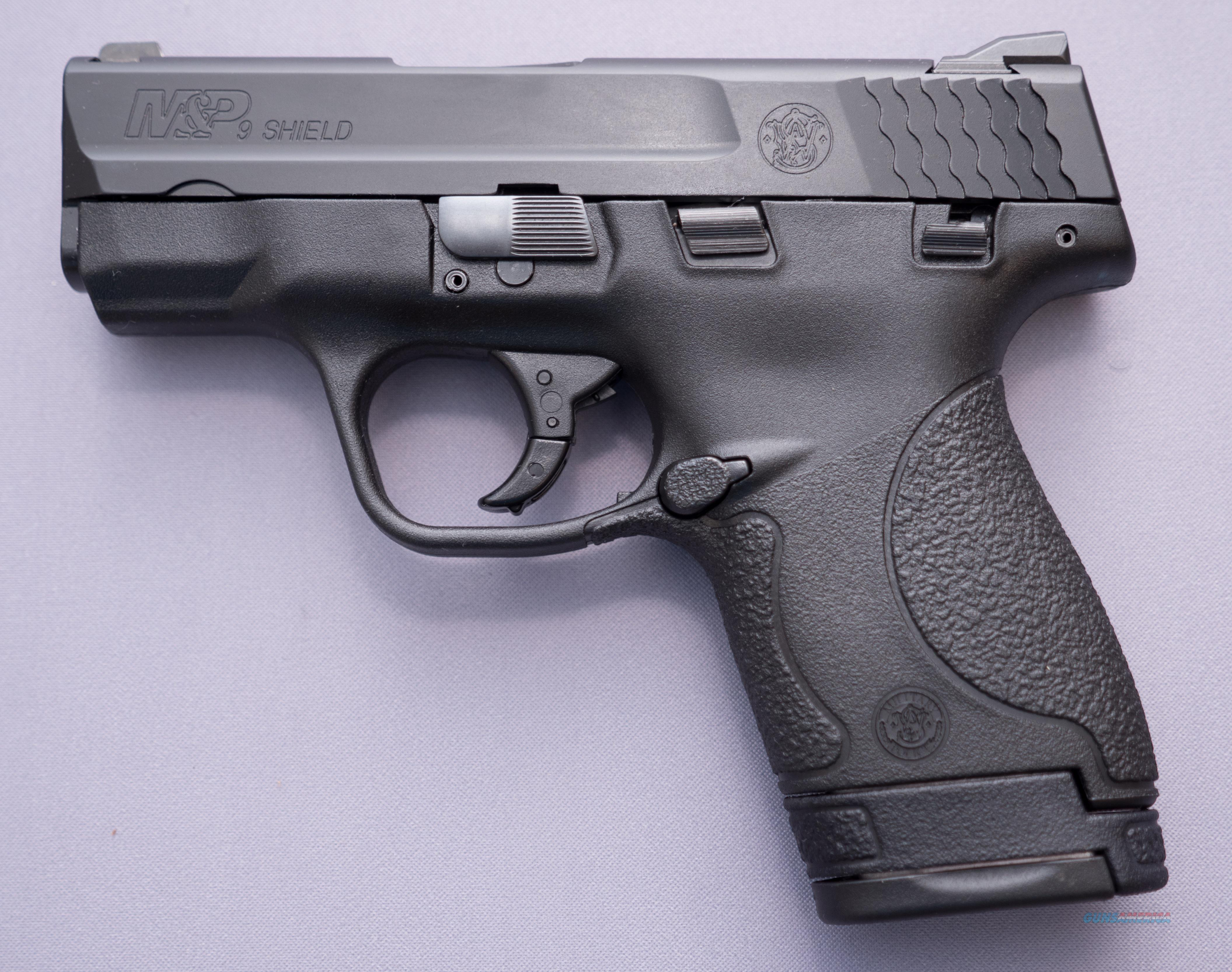 M&P 9 Shield Thumb Safety, 9mm 8+1  Free Shipping NO Credit Card Fees  Guns > Pistols > Smith & Wesson Pistols - Autos > Shield
