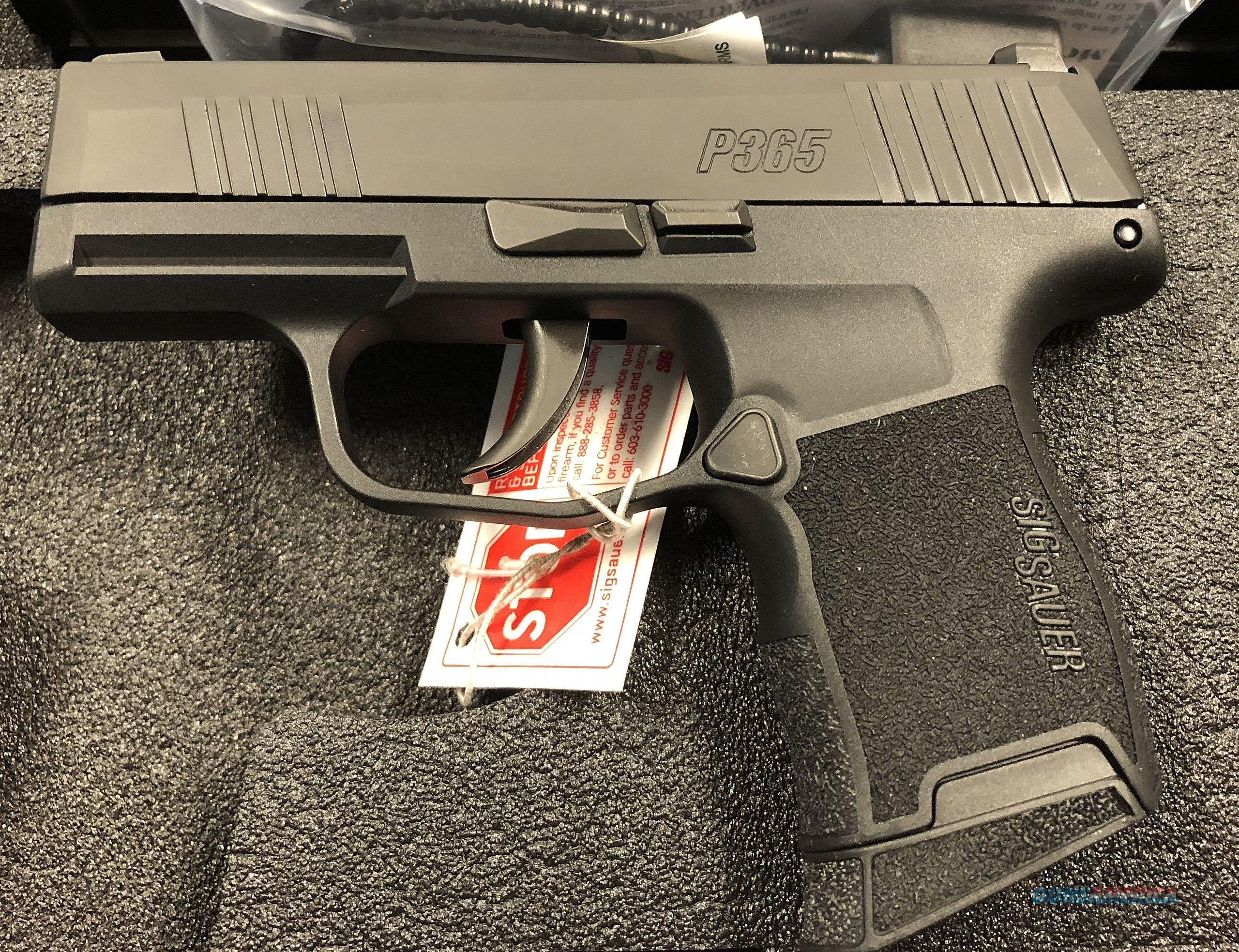 Sig Sauer P365 Micro-Compact   Guns > Pistols > Sig - Sauer/Sigarms Pistols > P365