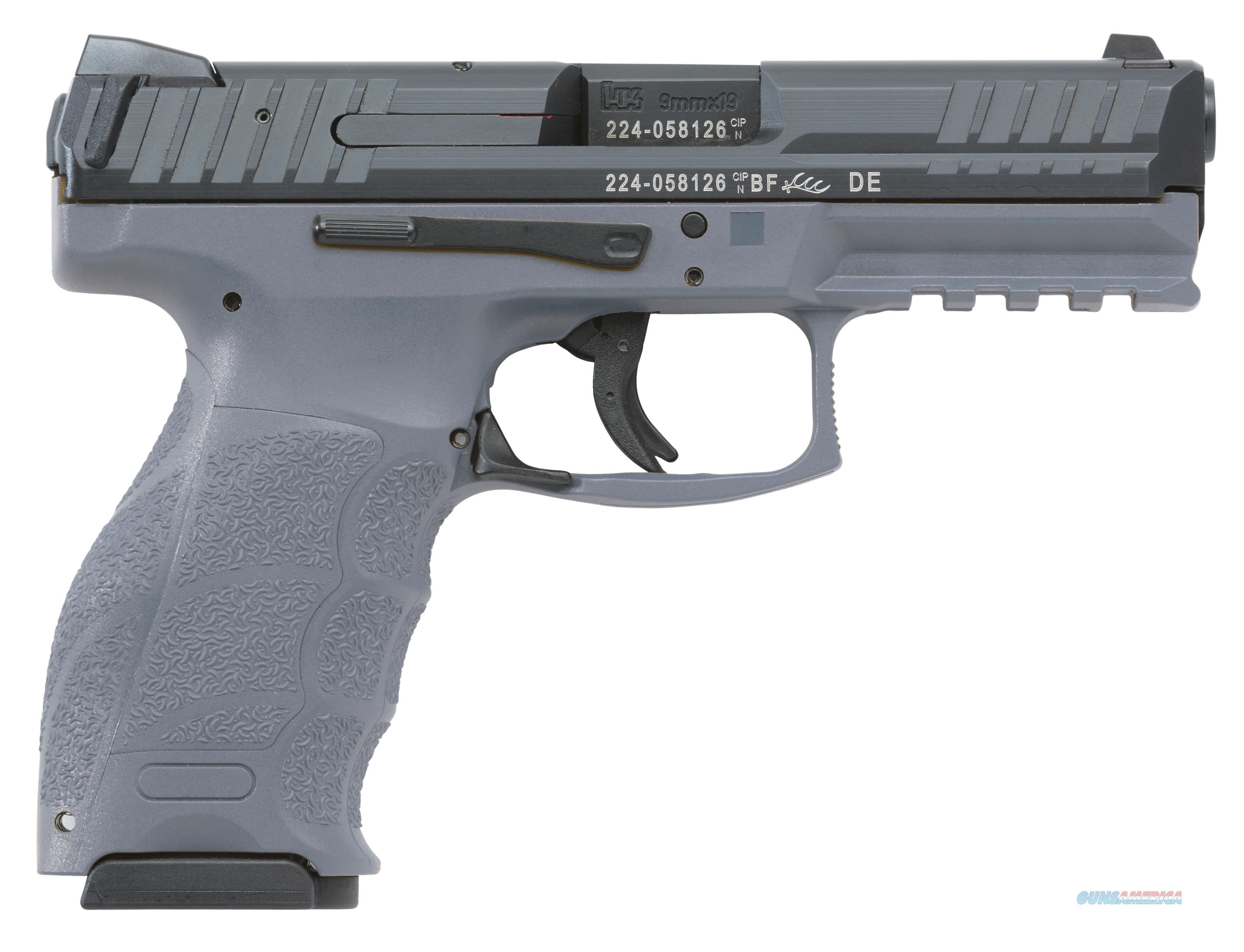 HK VP9 9mm 15+1 Gray   Guns > Pistols > Heckler & Koch Pistols > Polymer Frame