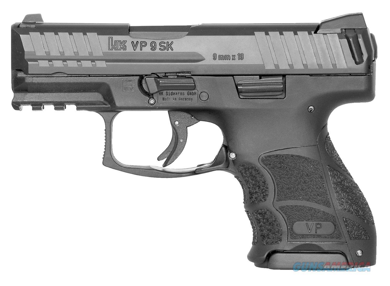 HK VP9 SK 9mm Luger 10+1 capacity Free Shipping  Guns > Pistols > Heckler & Koch Pistols > Polymer Frame