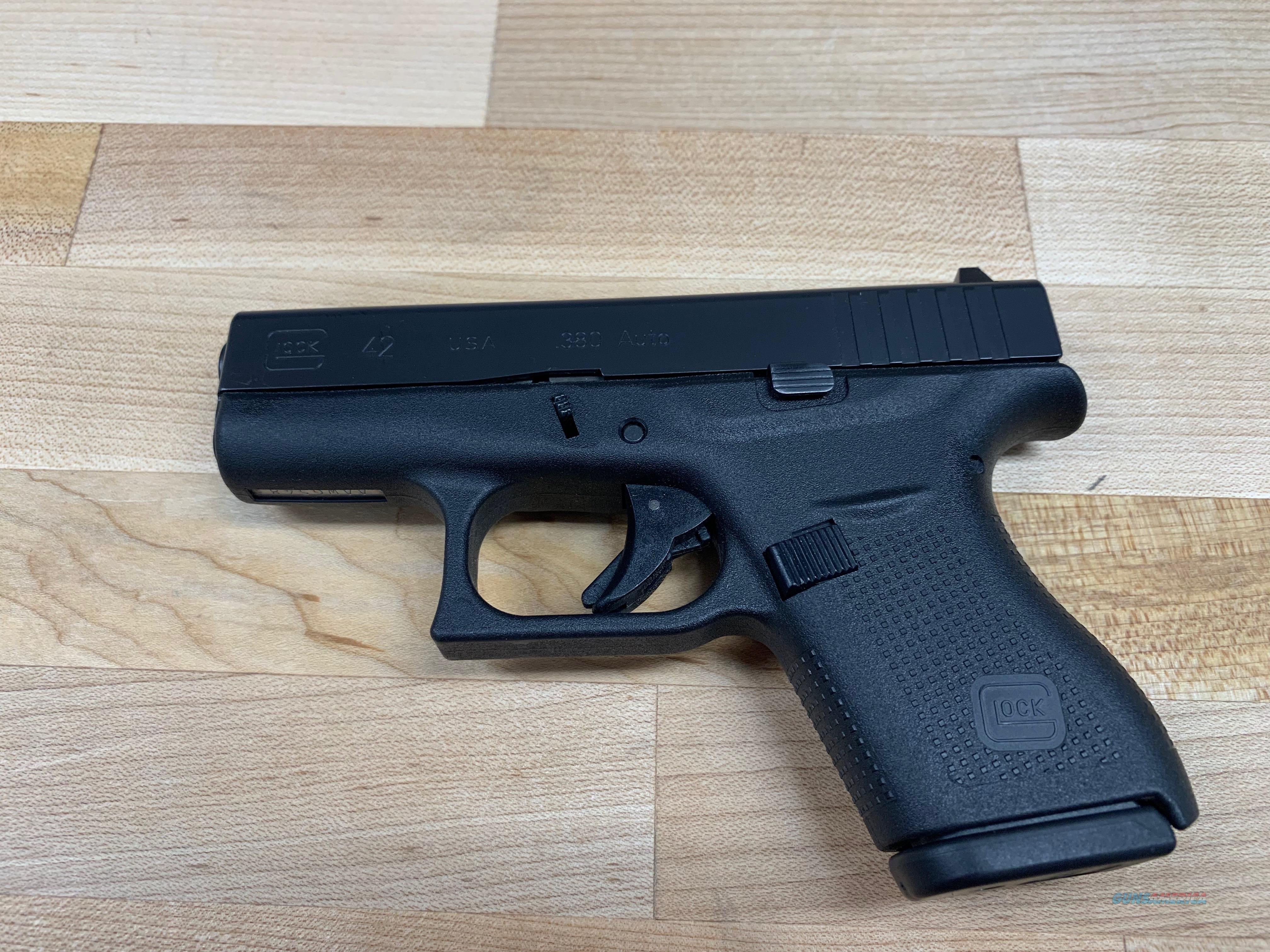 Glock UI4250201 G42 Subcompact Double 380   Guns > Pistols > Glock Pistols > 42