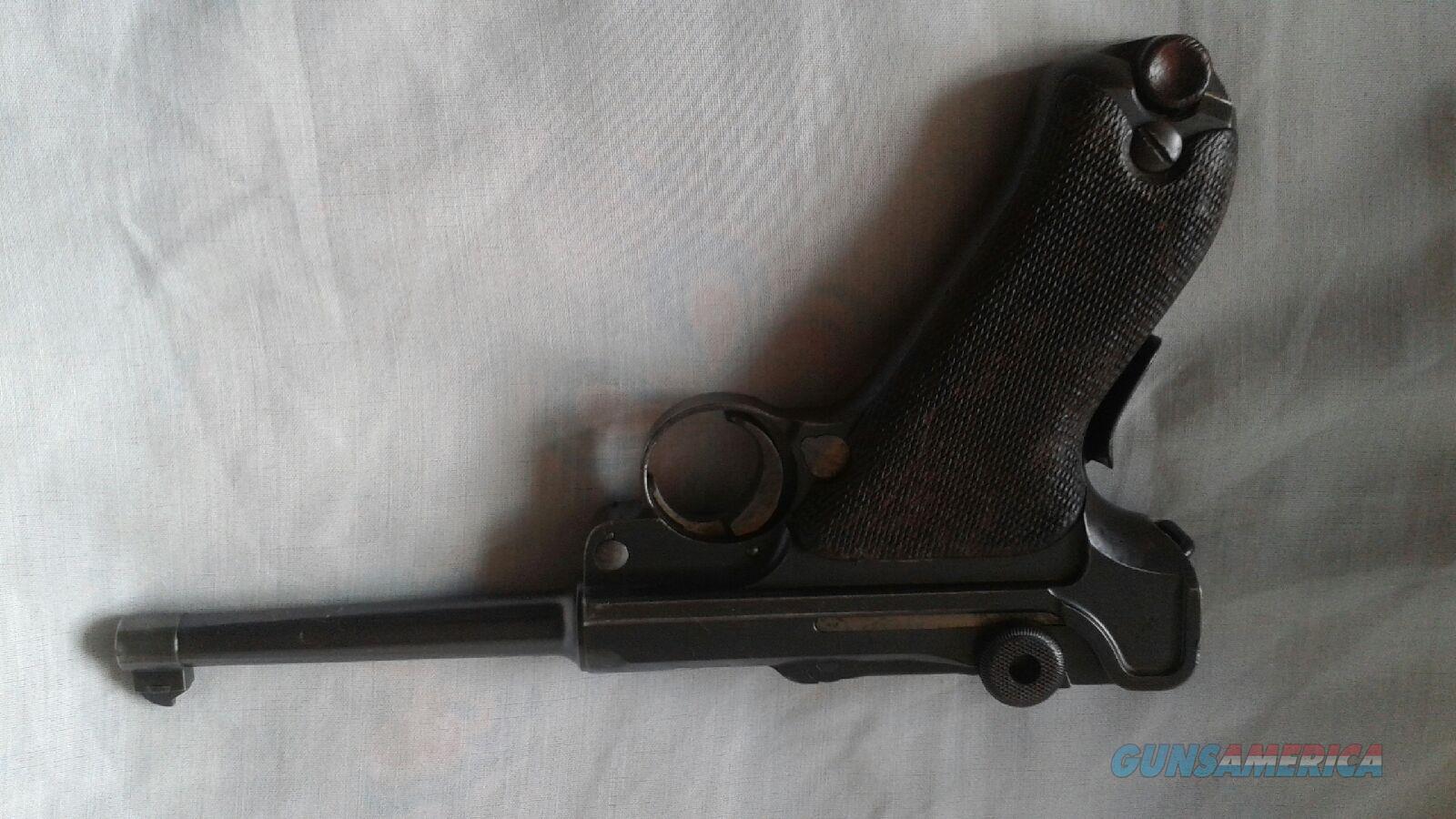 Lugar DWM 1906 .30 cal Brazil cod 243  Guns > Pistols > Luger Pistols